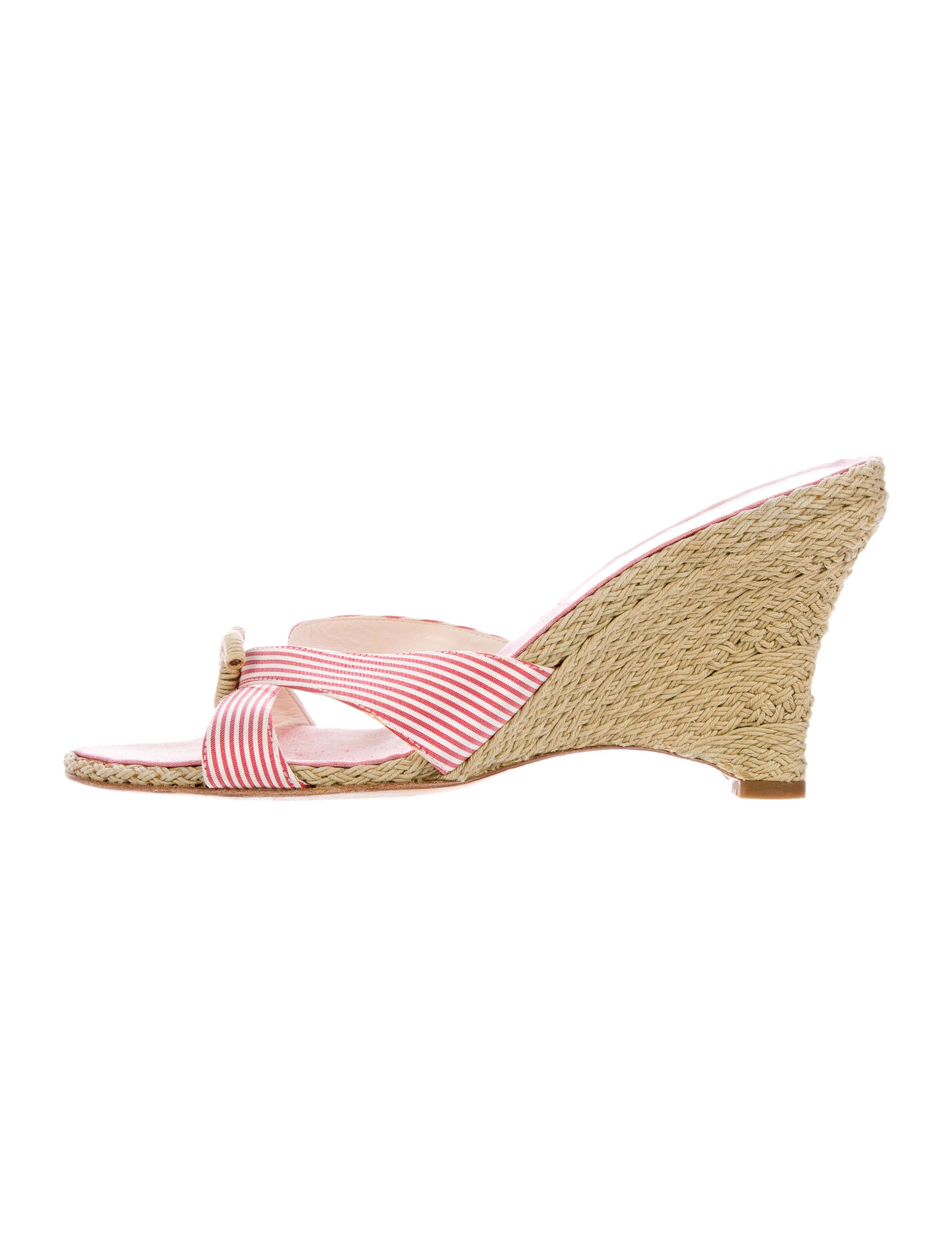 chanel crossover slide wedges shoes cha161713 the