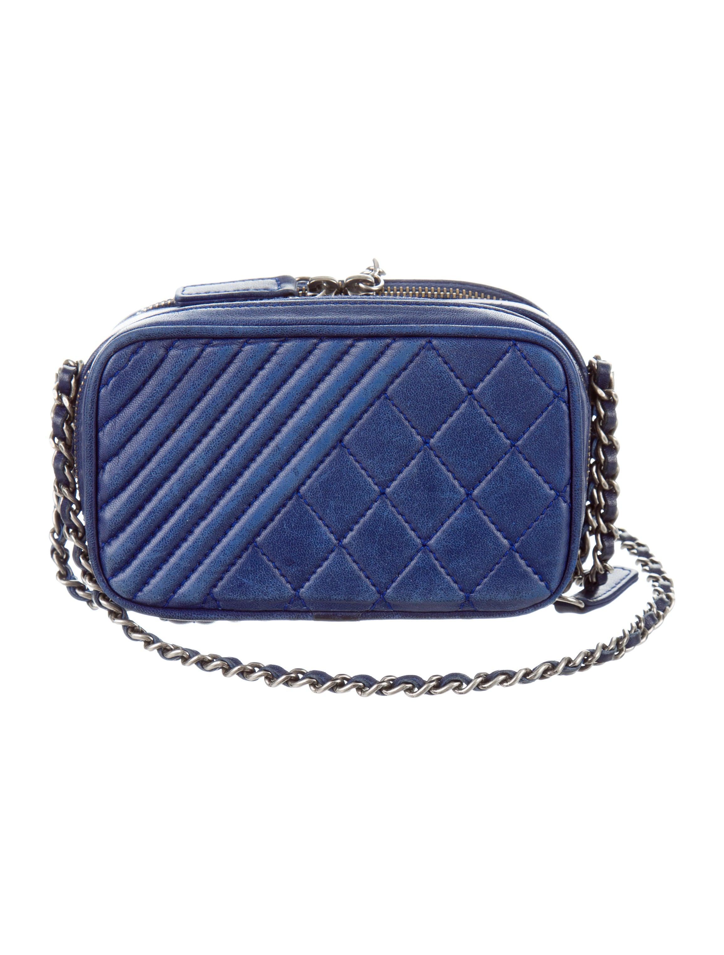 Chanel Mini Coco Boy Camera Crossbody Bag Handbags