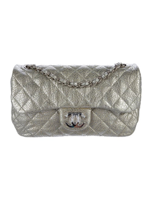 68226ac050ae0e Chanel Crumpled Calfskin On the Rocks Flap Bag - Handbags ...