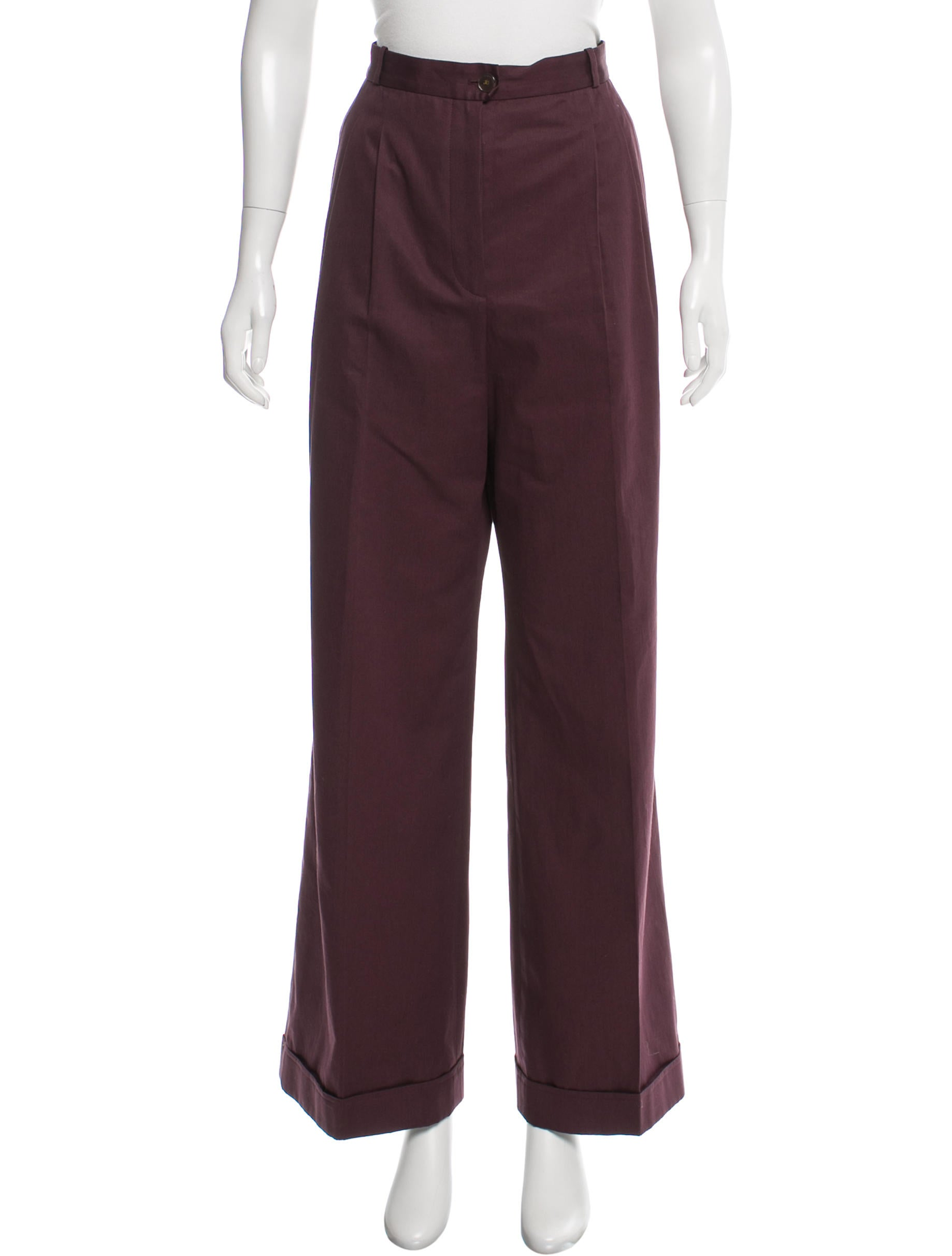 Find wide leg pleated pants at ShopStyle. Shop the latest collection of wide leg pleated pants from the most popular stores - all in one place.