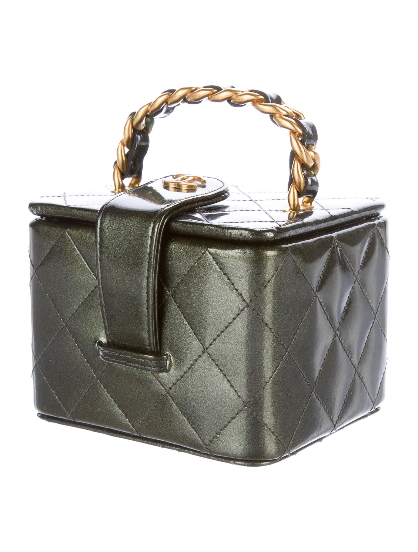 Chanel Patent Vanity Case - Accessories - CHA162835 | The ...