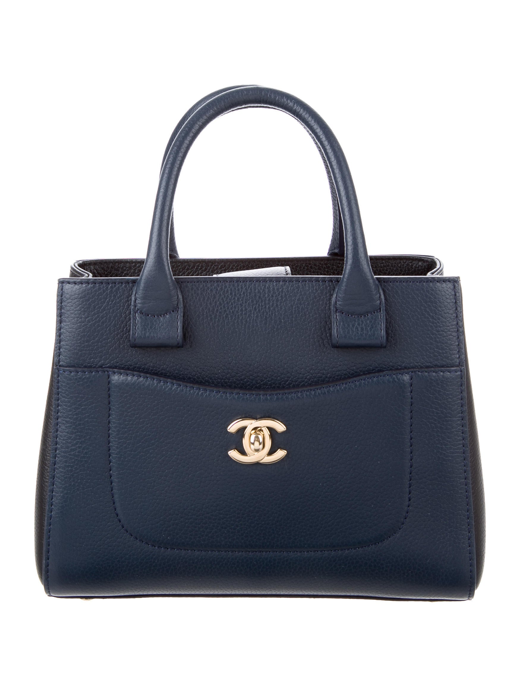 fe8d967dfb4252 Chanel 2017 Mini Neo Executive Shopper Tote - Handbags - CHA163468 | The  RealReal
