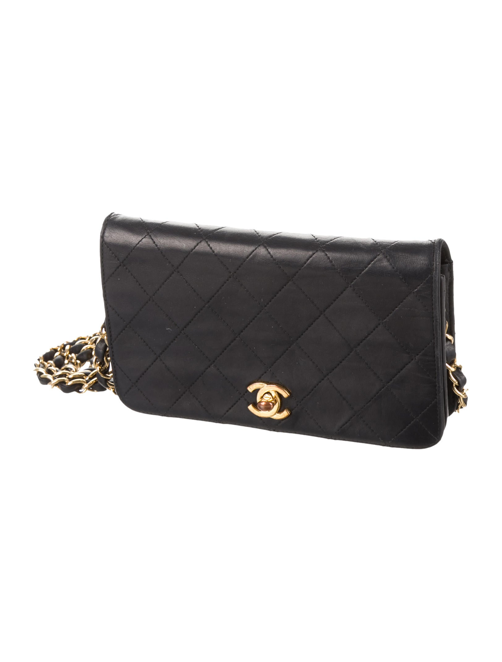 Chanel Quilted Lambskin Mini Flap Bag Handbags