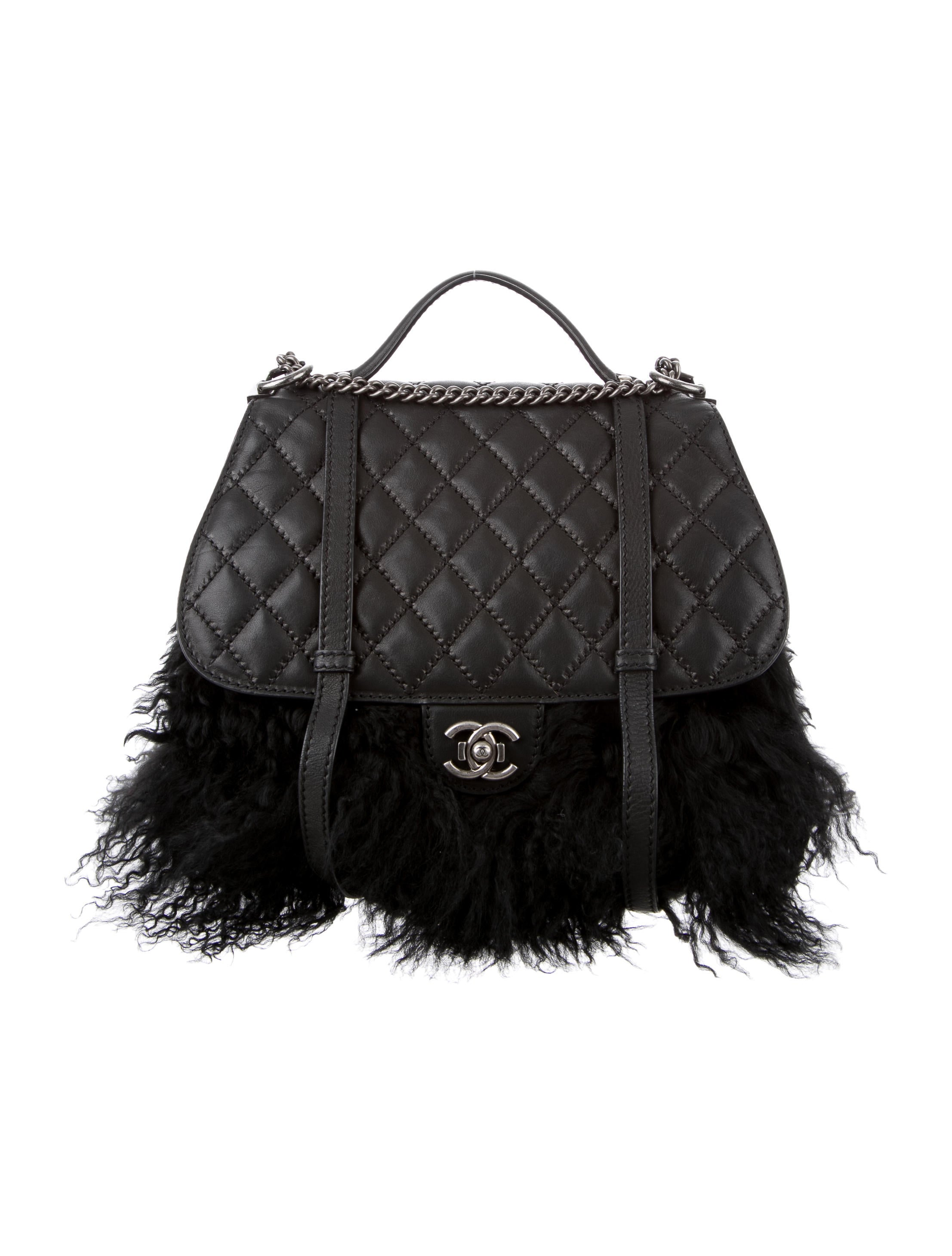 177b811b3b6f Chanel Flap Bag Fur Collection | Stanford Center for Opportunity ...