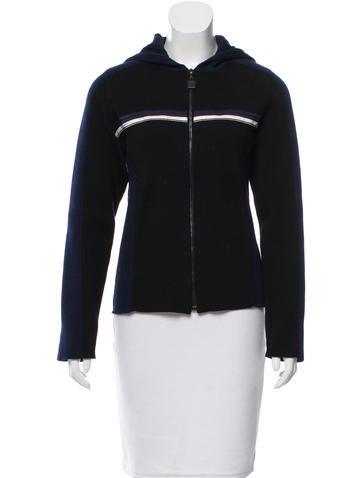 Chanel Sport Wool Hooded Sweater None