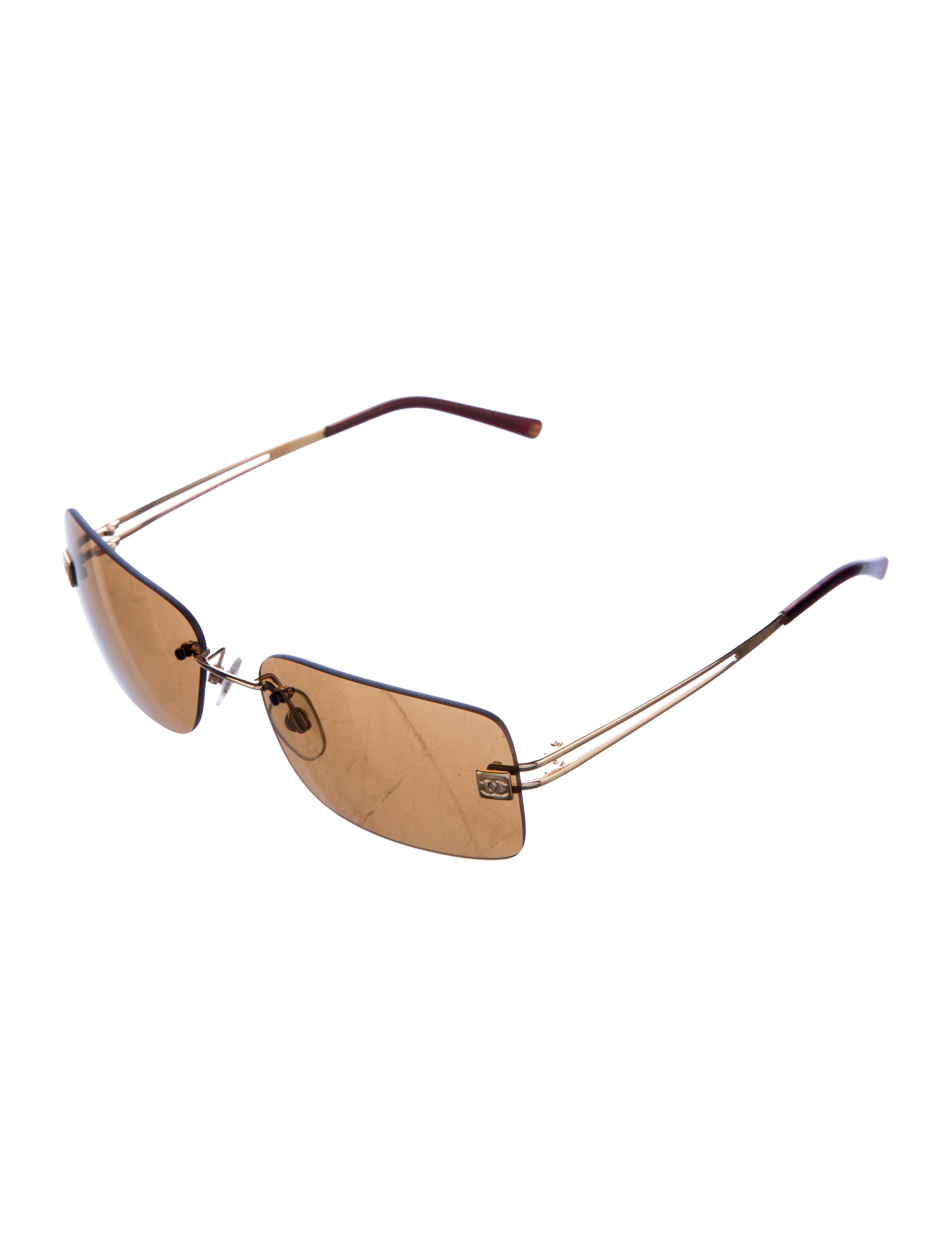 Chanel Rimless CC Sunglasses - Accessories - CHA164434 ...