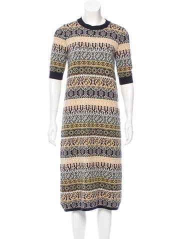 Chanel 2016 Paris-Rome Cashmere Dress w/ Tags None