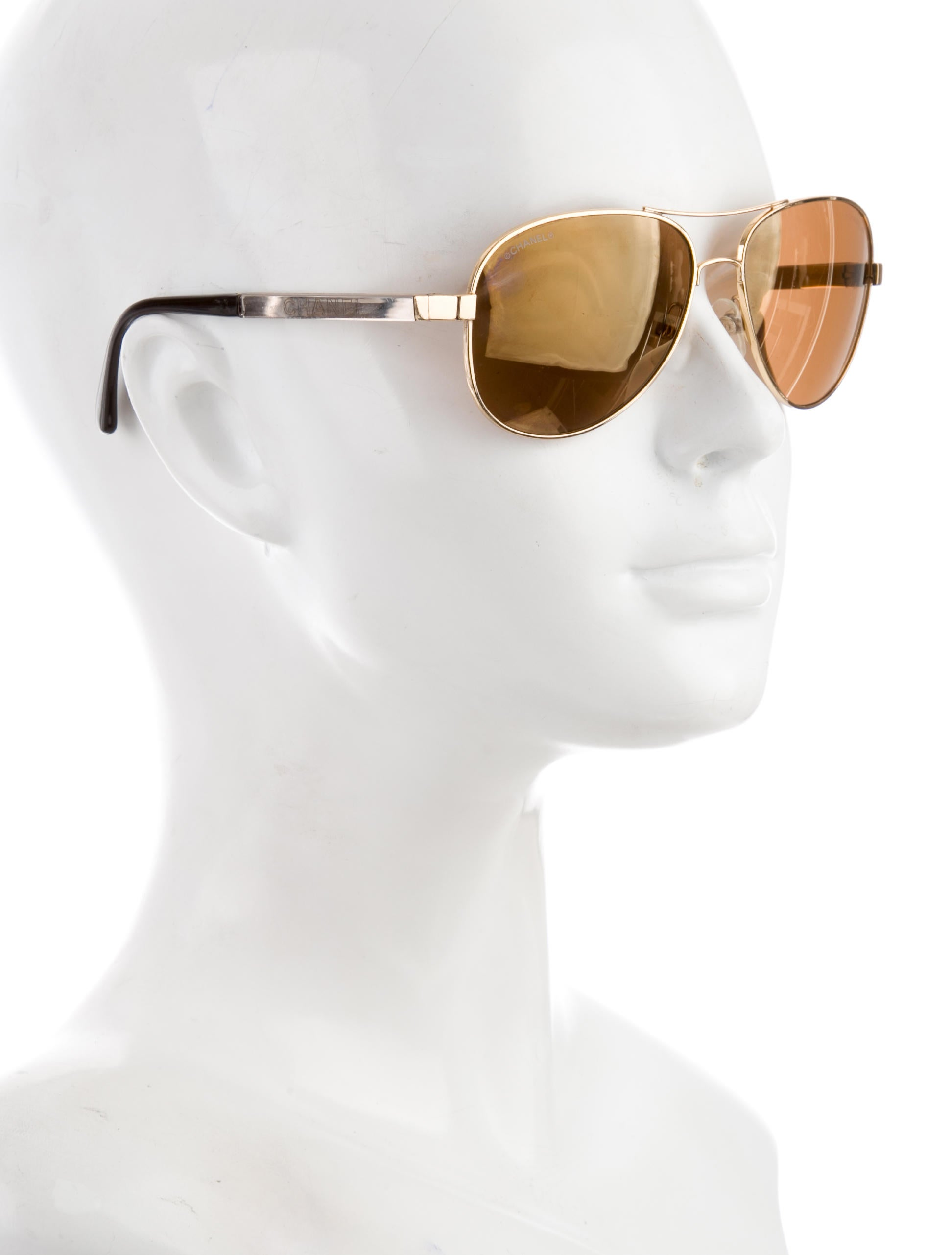 chanel miroir collection aviator sunglasses accessories