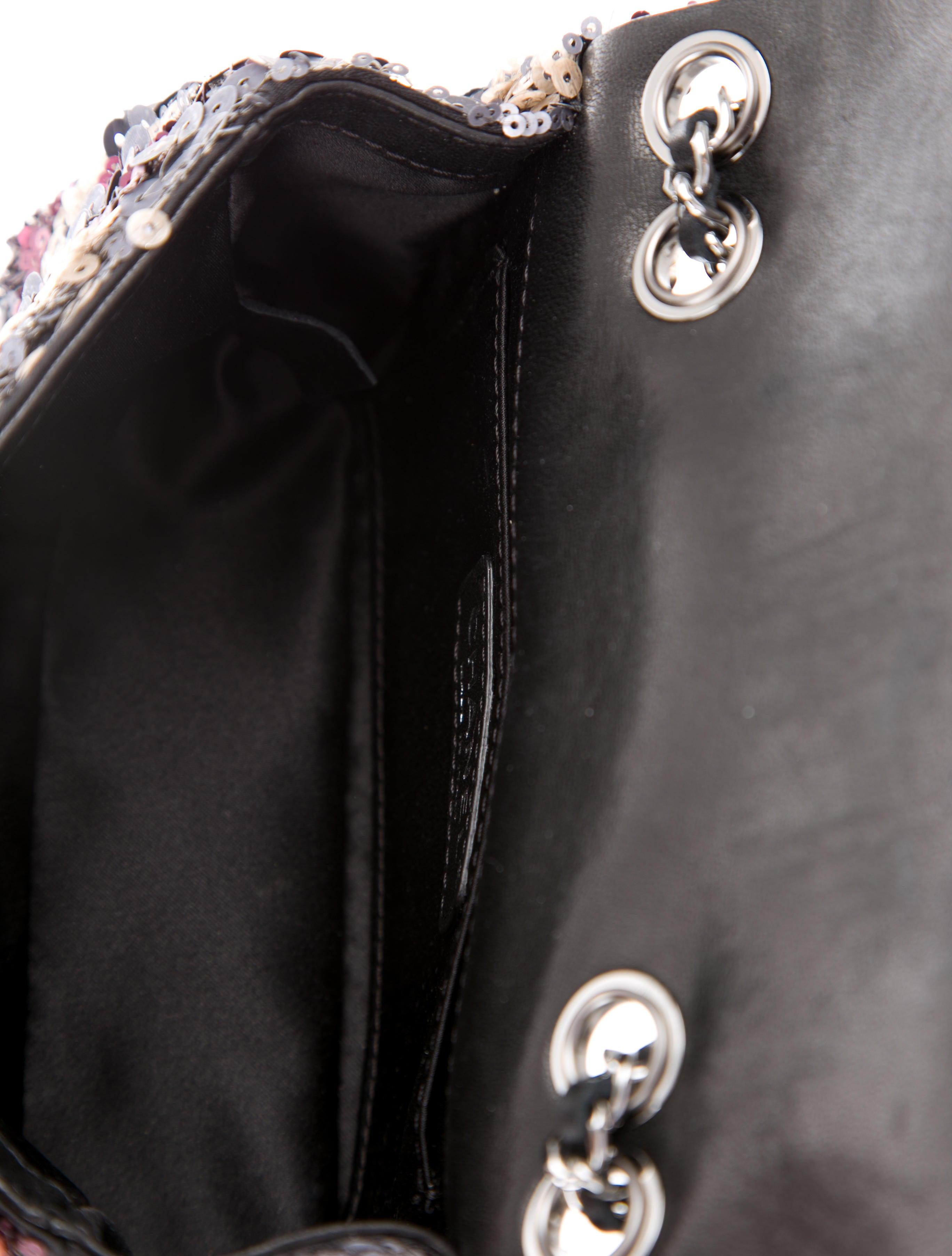 chanel sequin classic mini flap bag handbags cha165203