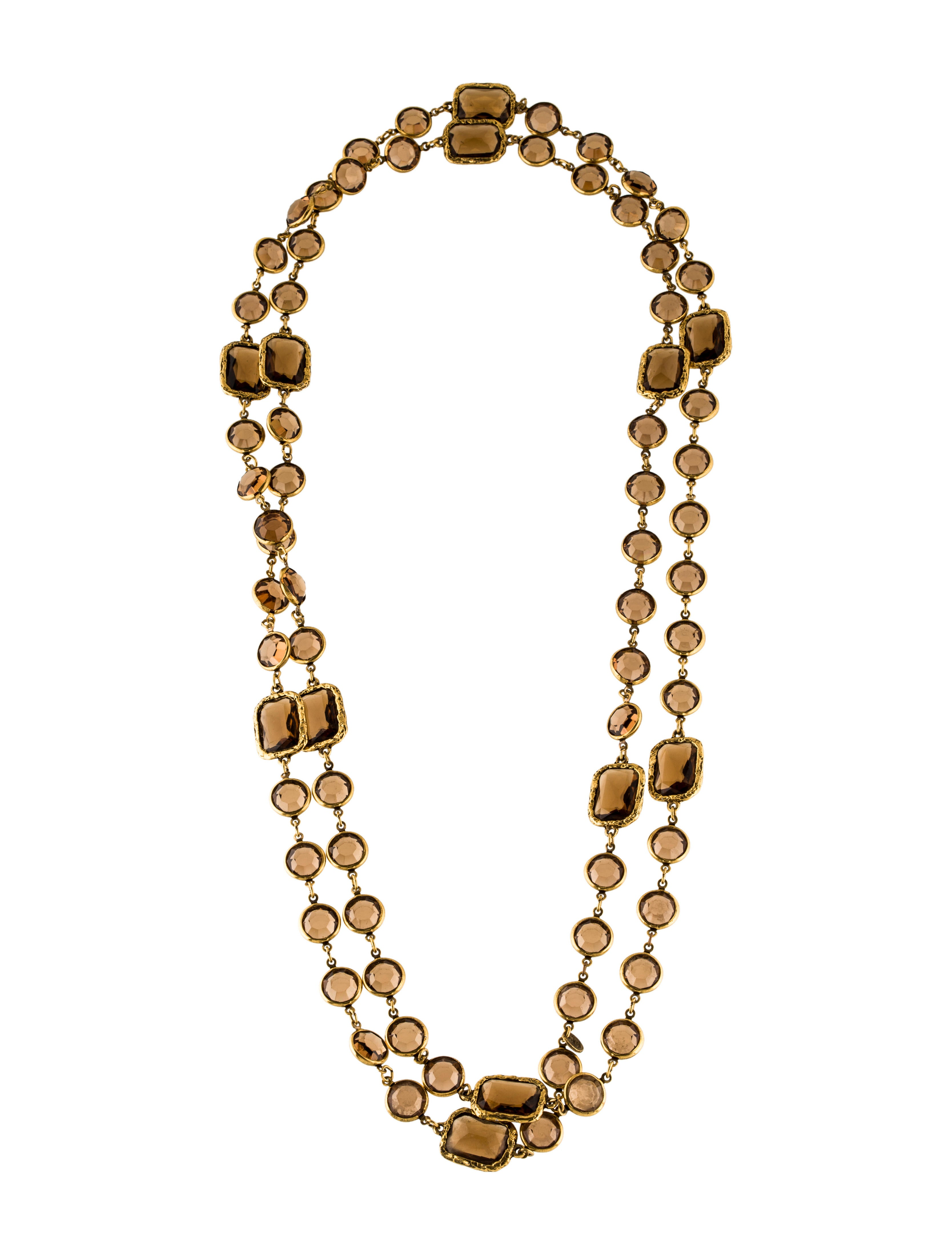 chanel station necklace necklaces cha165350