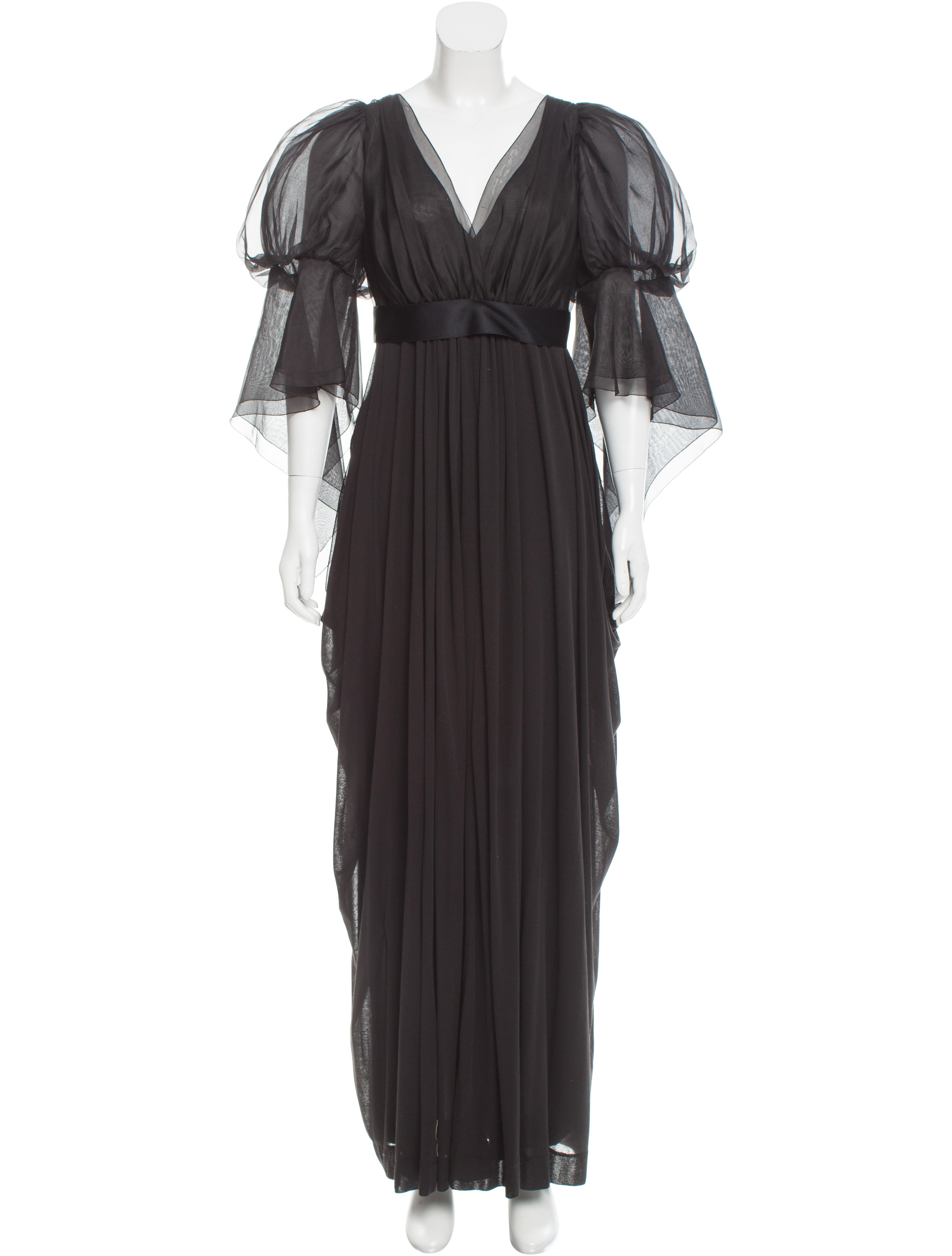 Chanel Belted Evening Dress - Clothing - CHA165946 | The RealReal
