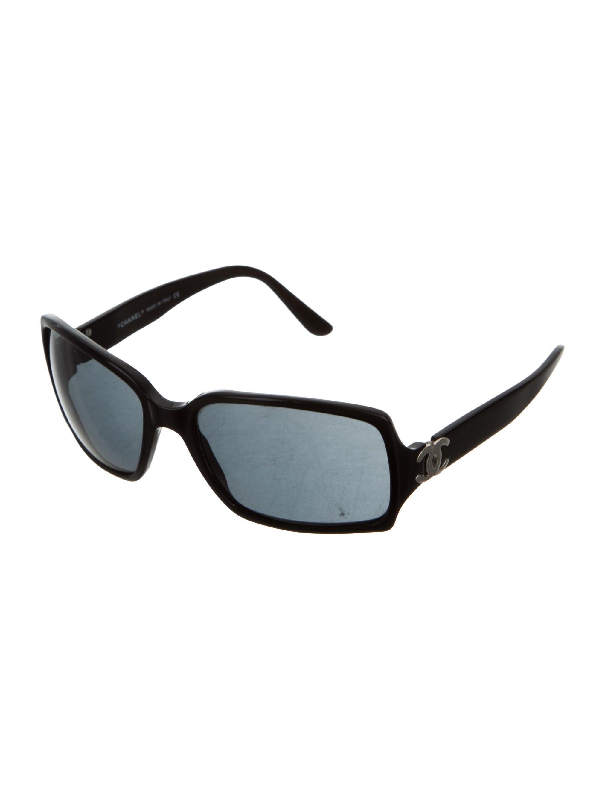 Chanel Rectangle CC Sunglasses - Accessories - CHA166234 ...