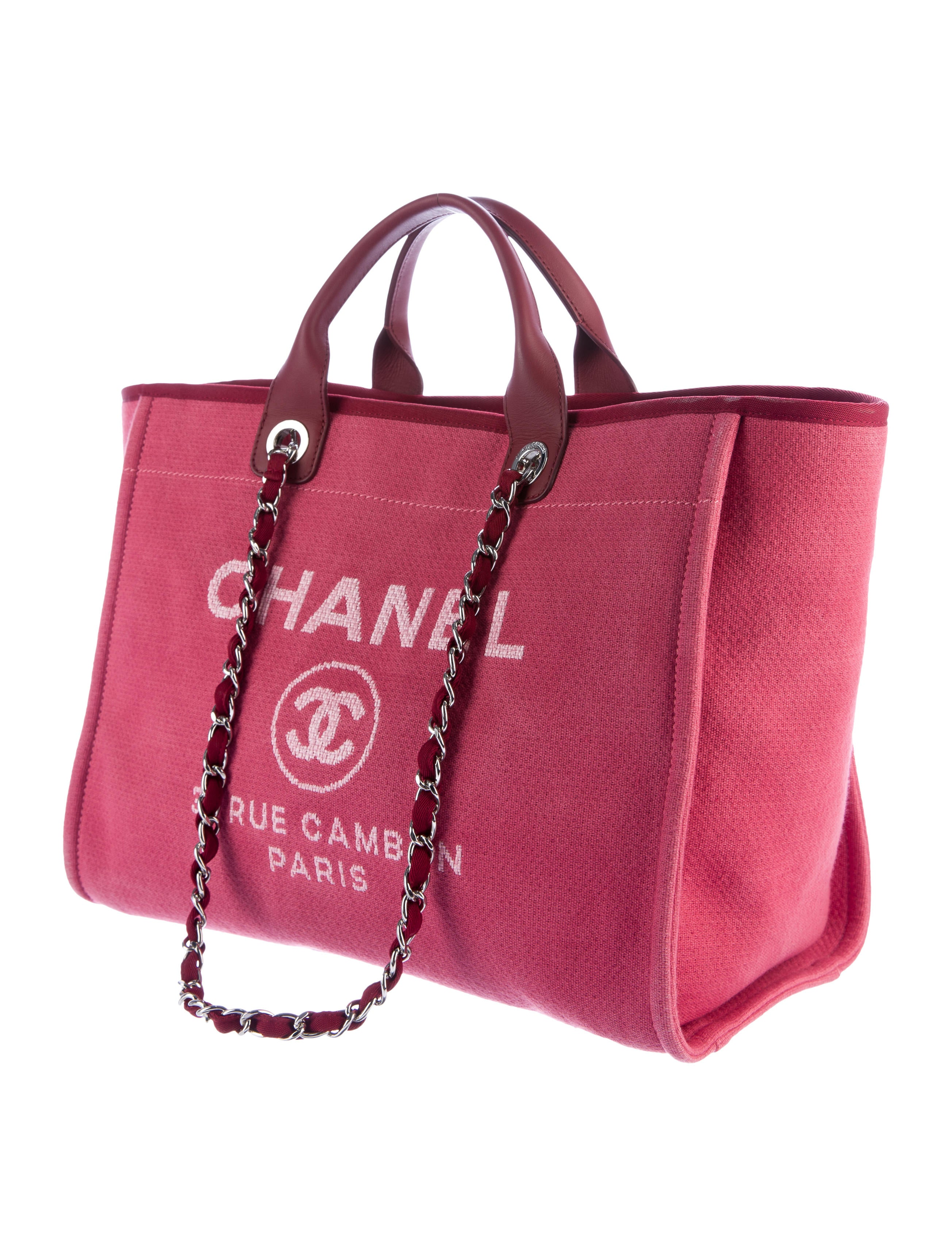 Chanel 2017 Large Deauville Shopping Bag