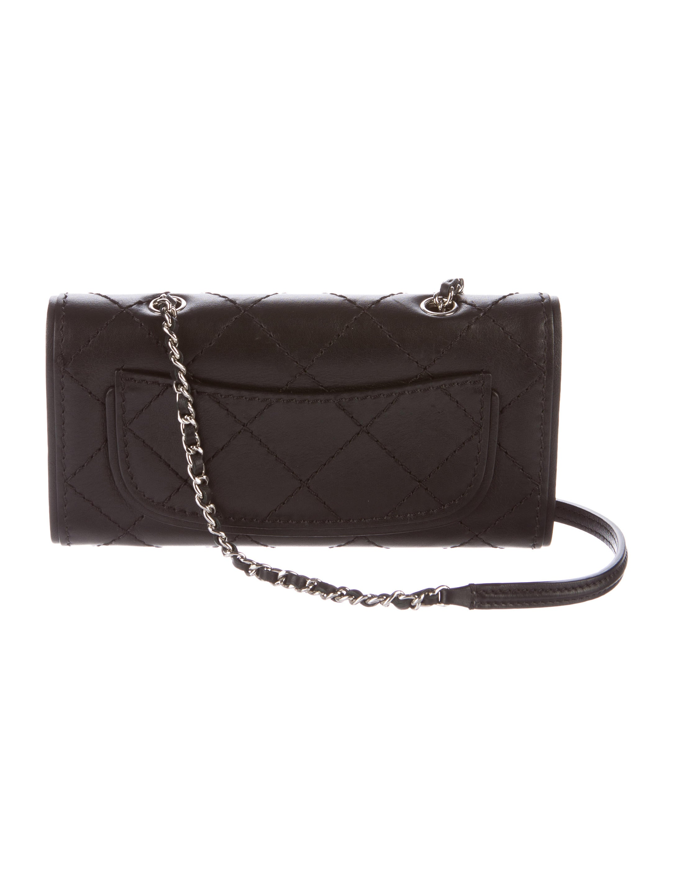 a0c439554255 Chanel Wallet On Chain Straps. Chanel Black Caviar Leather Flap Bag ...
