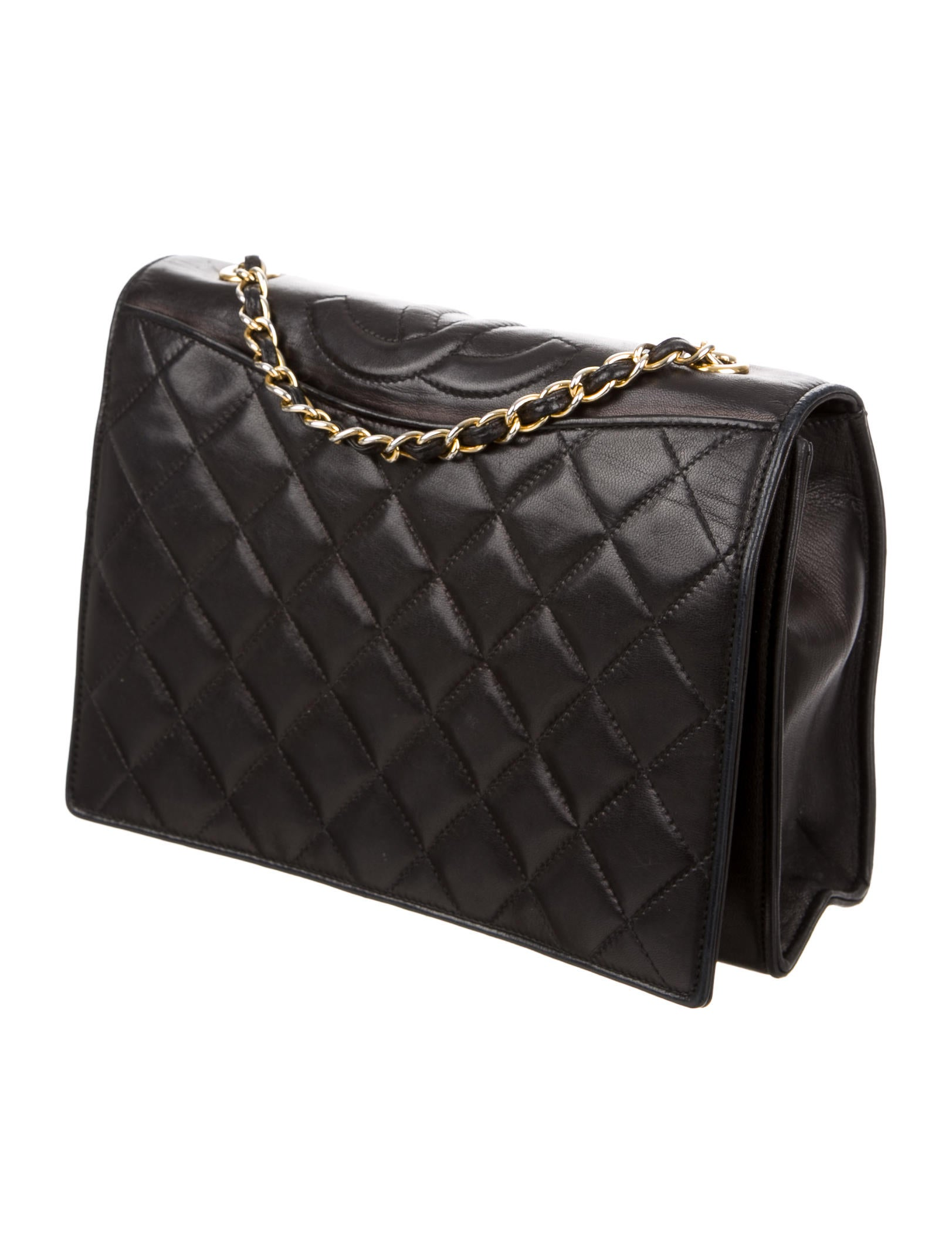 Chanel Quilted Lambskin Flap Bag