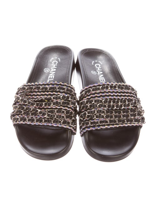 08bf3a162308 Chanel 2017 Tropiconic Slide Sandals - Shoes - CHA166970