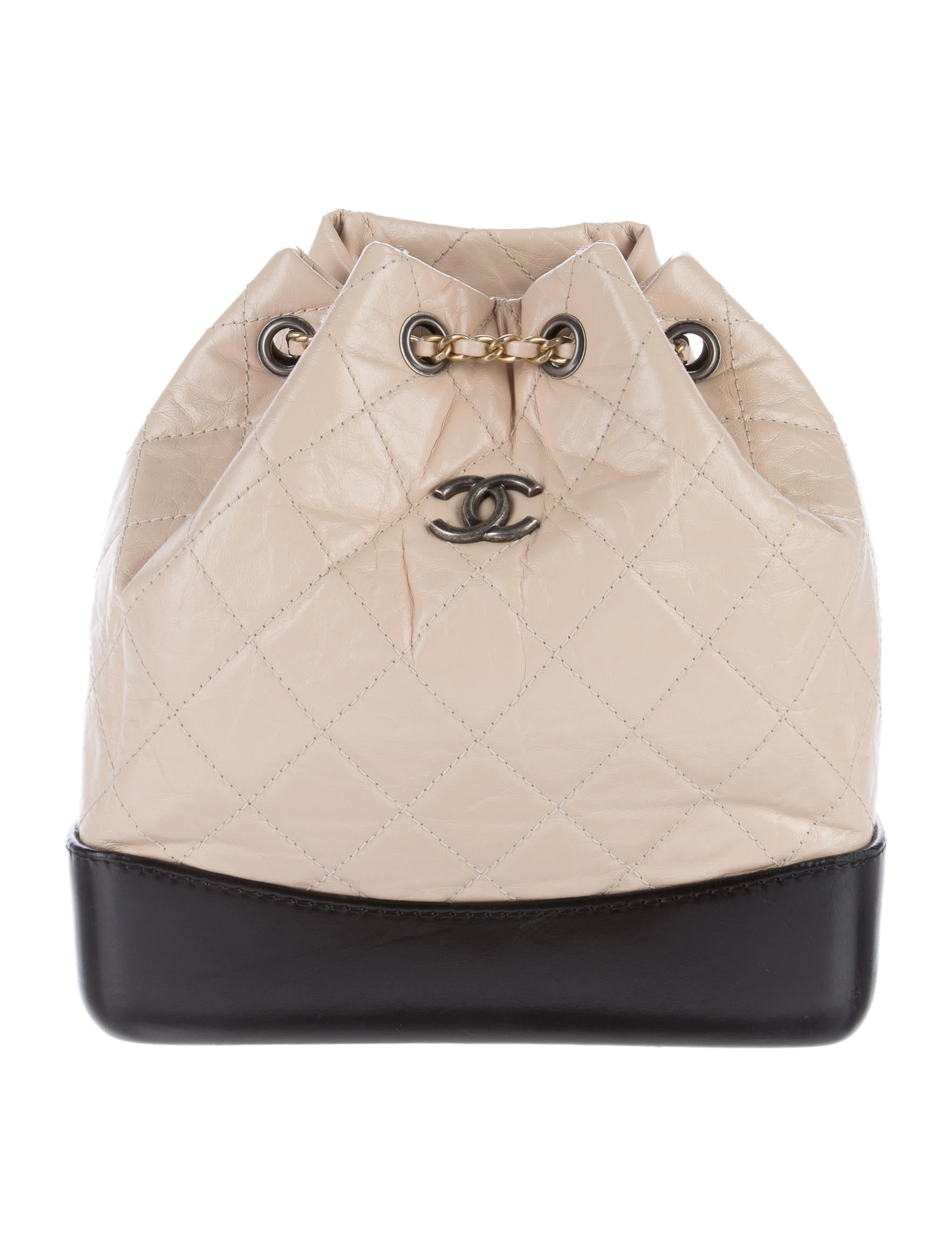 52883ad82b4458 Chanel 2017 Gabrielle Backpack - Handbags - CHA167040 | The RealReal