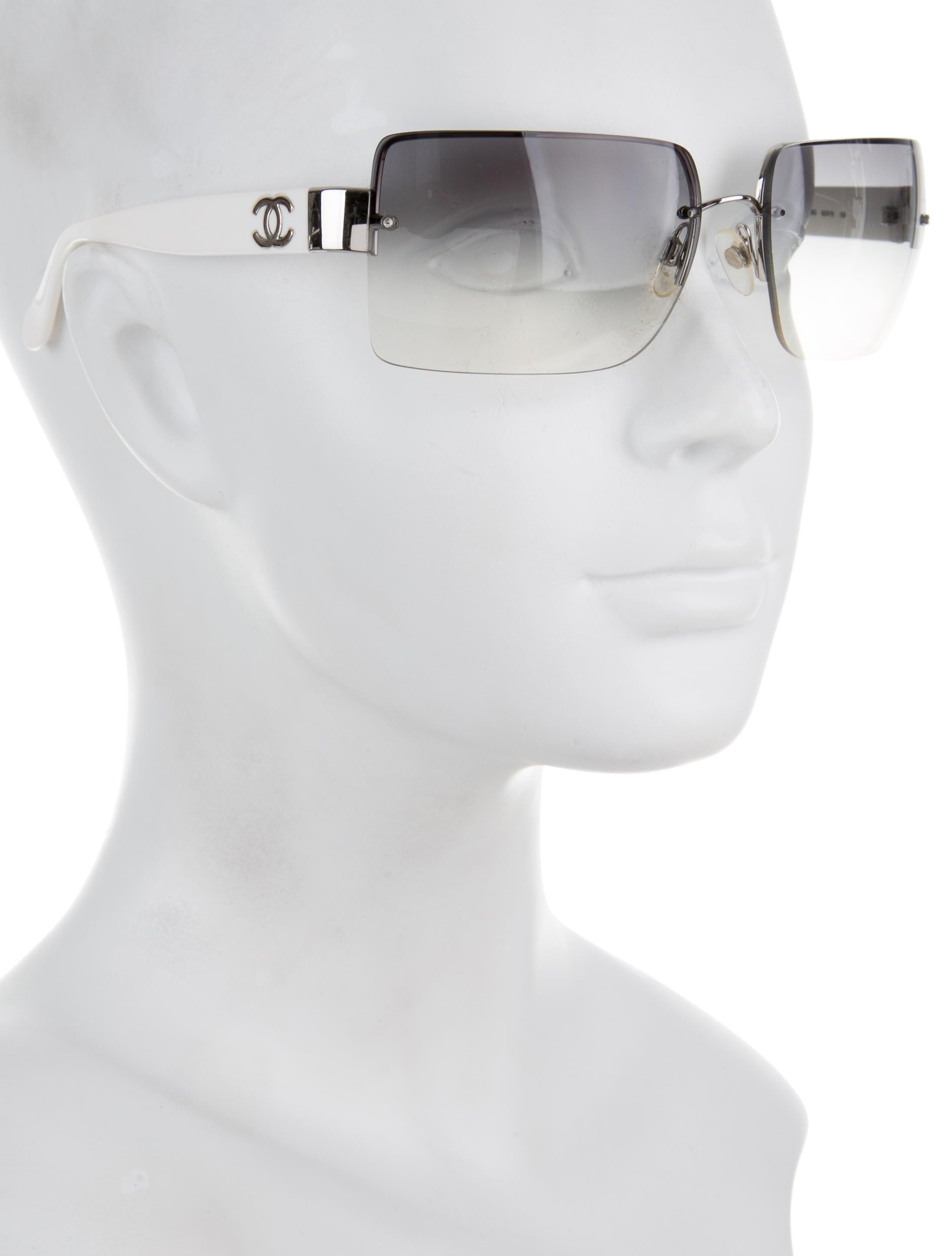 Rimless Chanel Glasses : Chanel CC Rimless Sunglasses - Accessories - CHA167947 ...