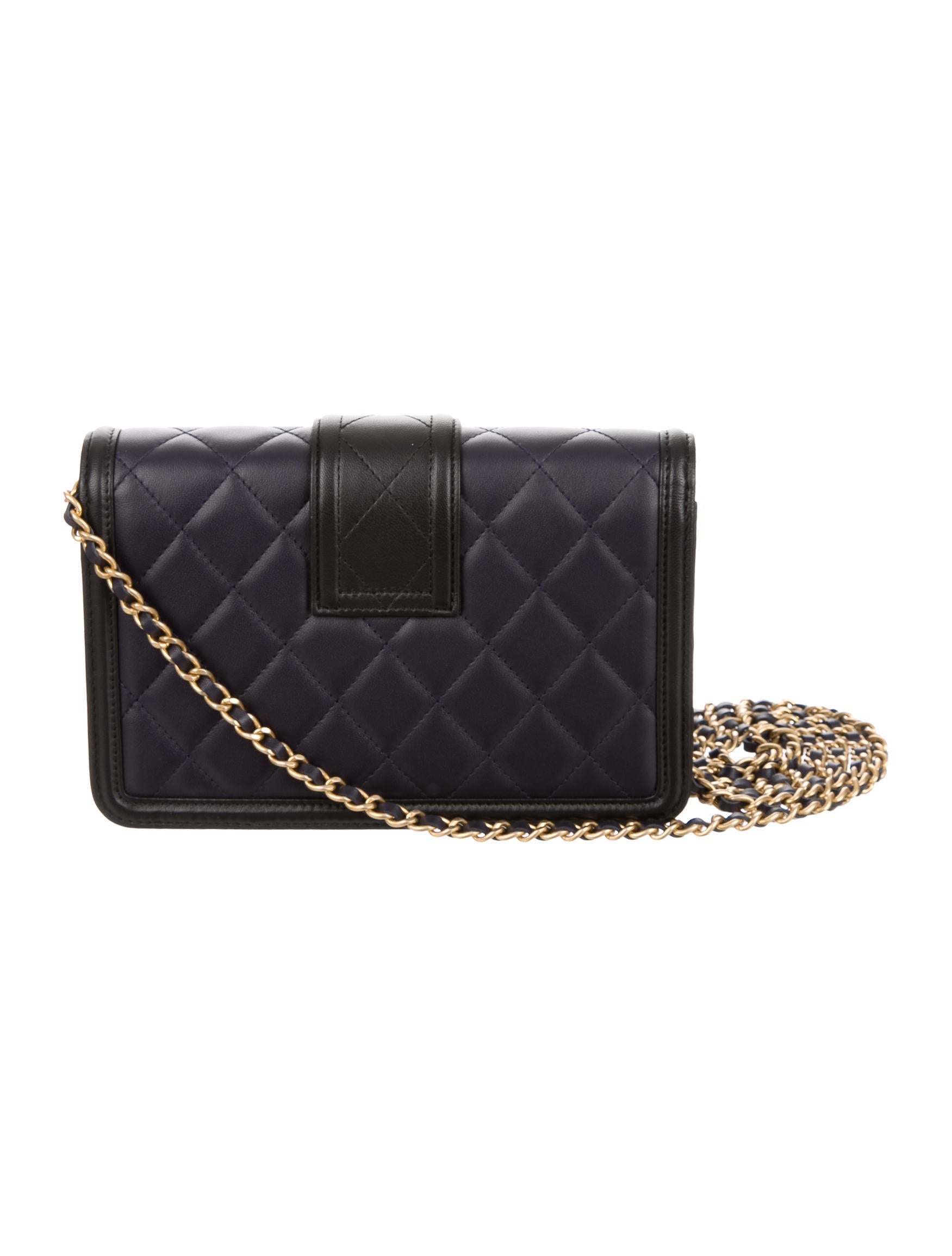 5848cf8225f7 Chanel 2016 Elegant CC Wallet On Chain w/ Tags - Handbags - CHA168380 | The