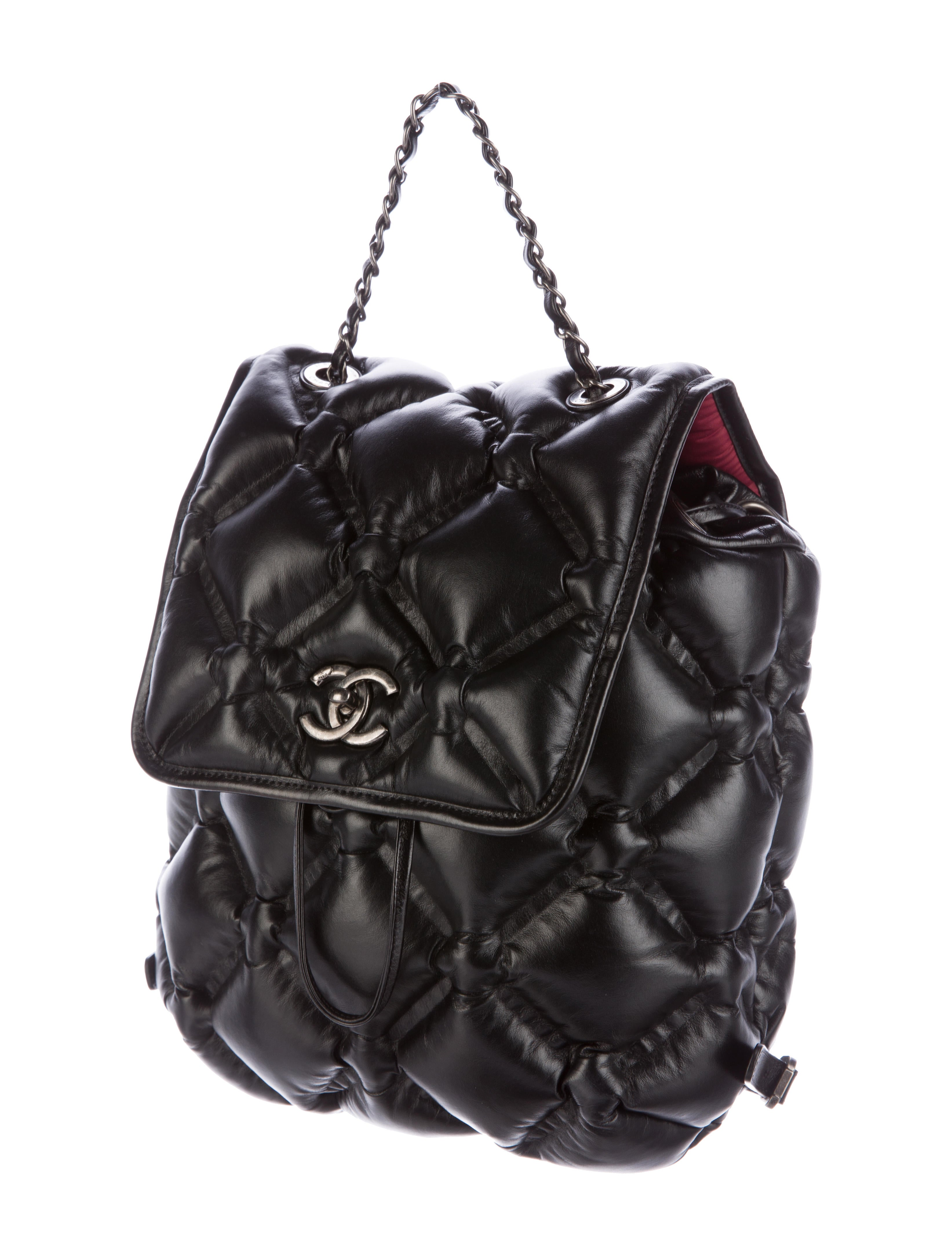 Chanel 2017 Chesterfield Backpack - Handbags - CHA168394 ...