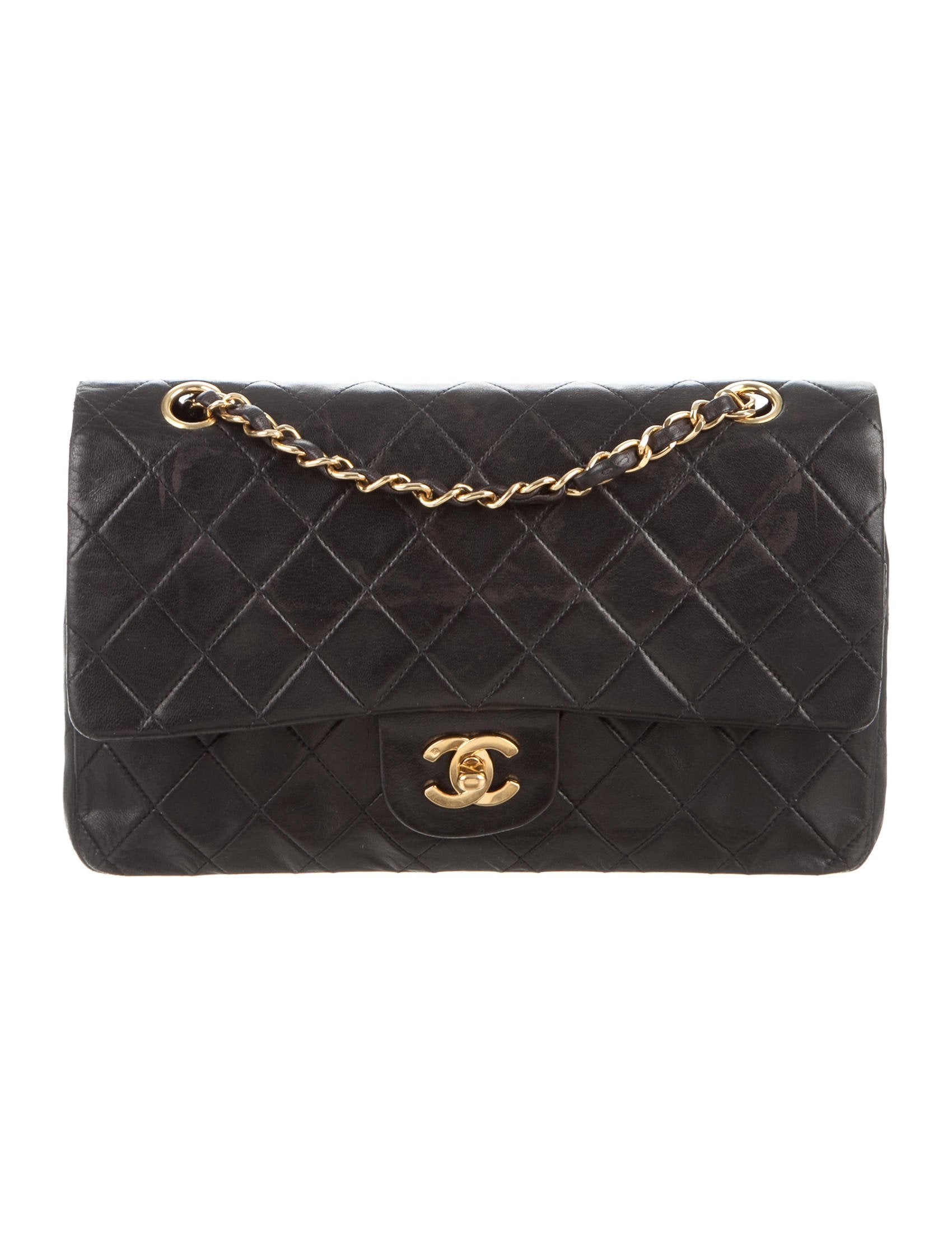Contemporary Flatware Chanel Classic Medium Double Flap Bag Handbags