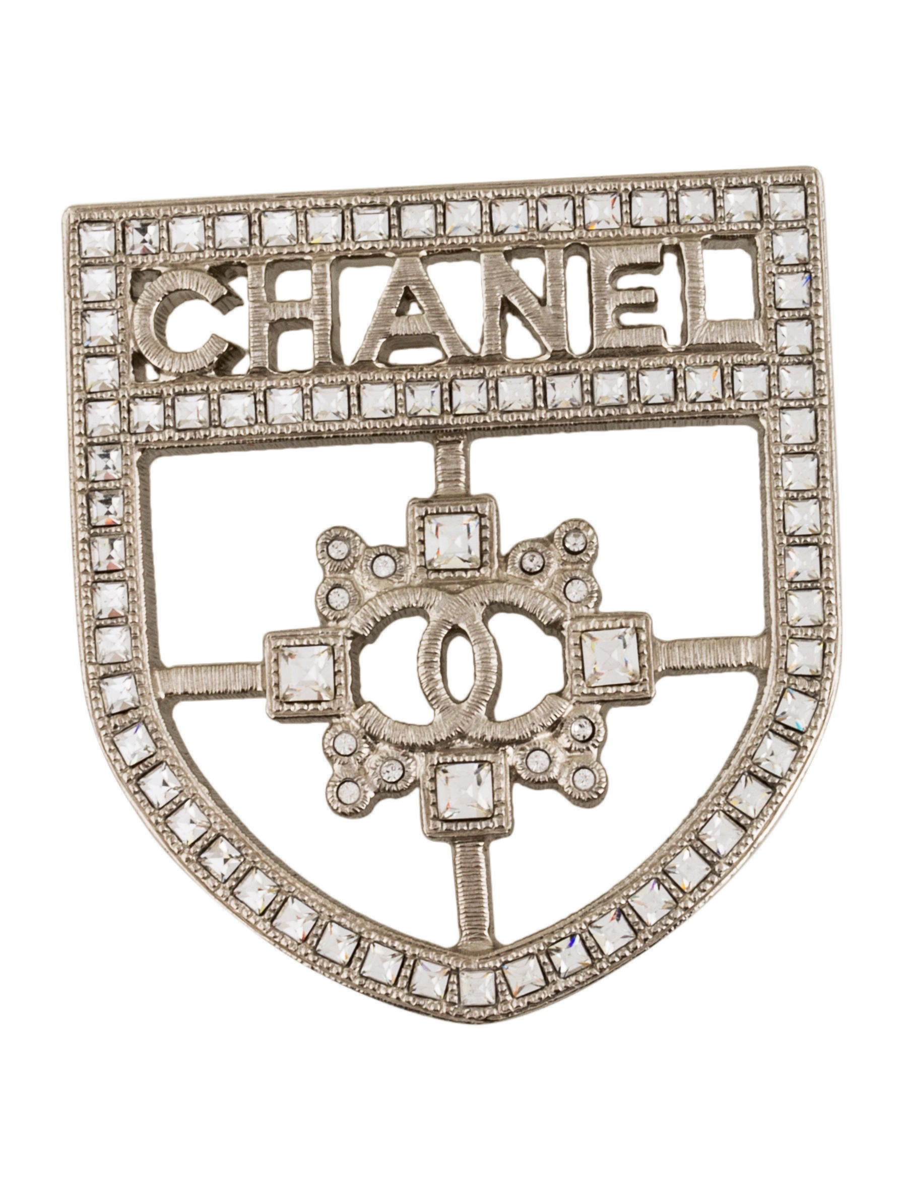 chanel designers silvery jewellery joli closet ref metal brooch en pins women brooches womens