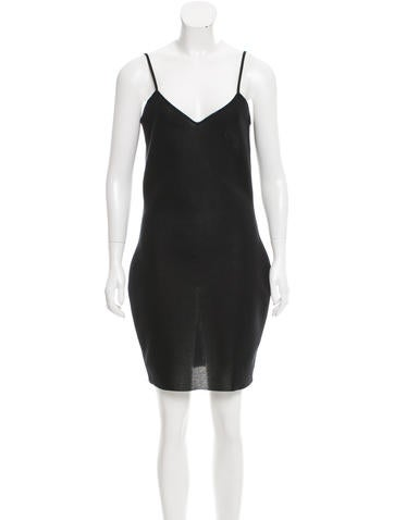 Chanel Knit Bodycon Dress None