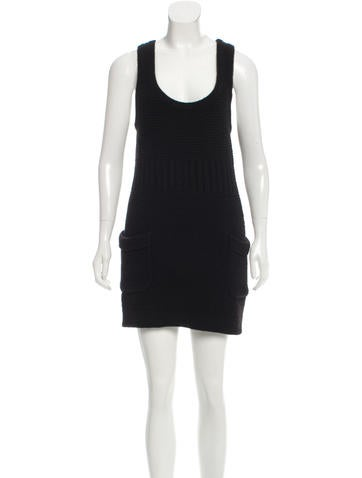 Chanel Wool Knit Dress None