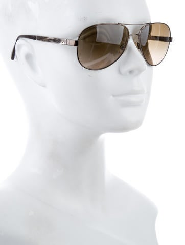 Chanel Collection Miroir 4179 Of Chanel Miroir Aviator Sunglasses Accessories Cha170379