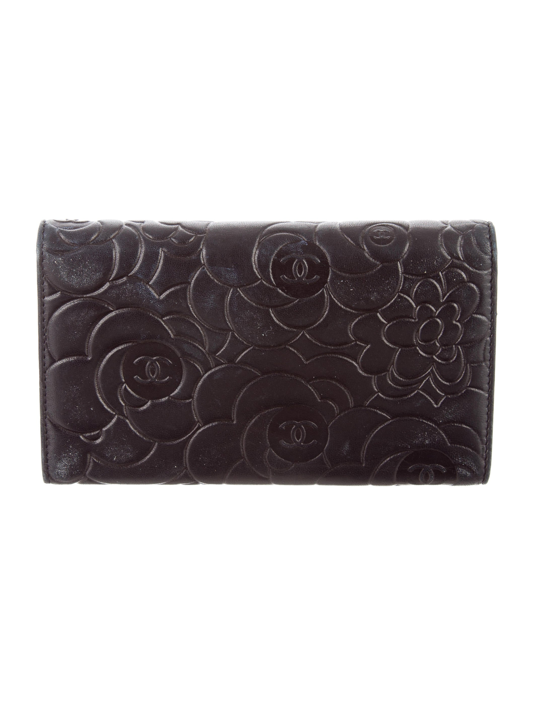 Chanel Camellia Flap Wallet - Accessories - CHA170643 ...