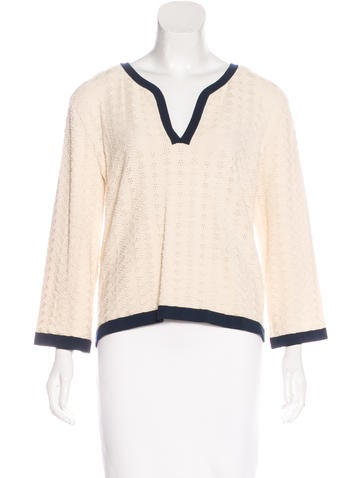 Chanel Knit Jacquard Sweater w/ Tags None