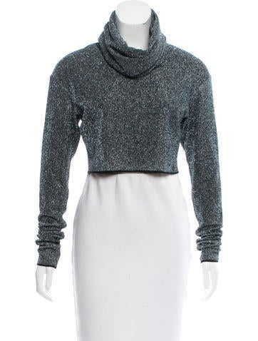Chanel Metallic Knit Top w/ Tags None