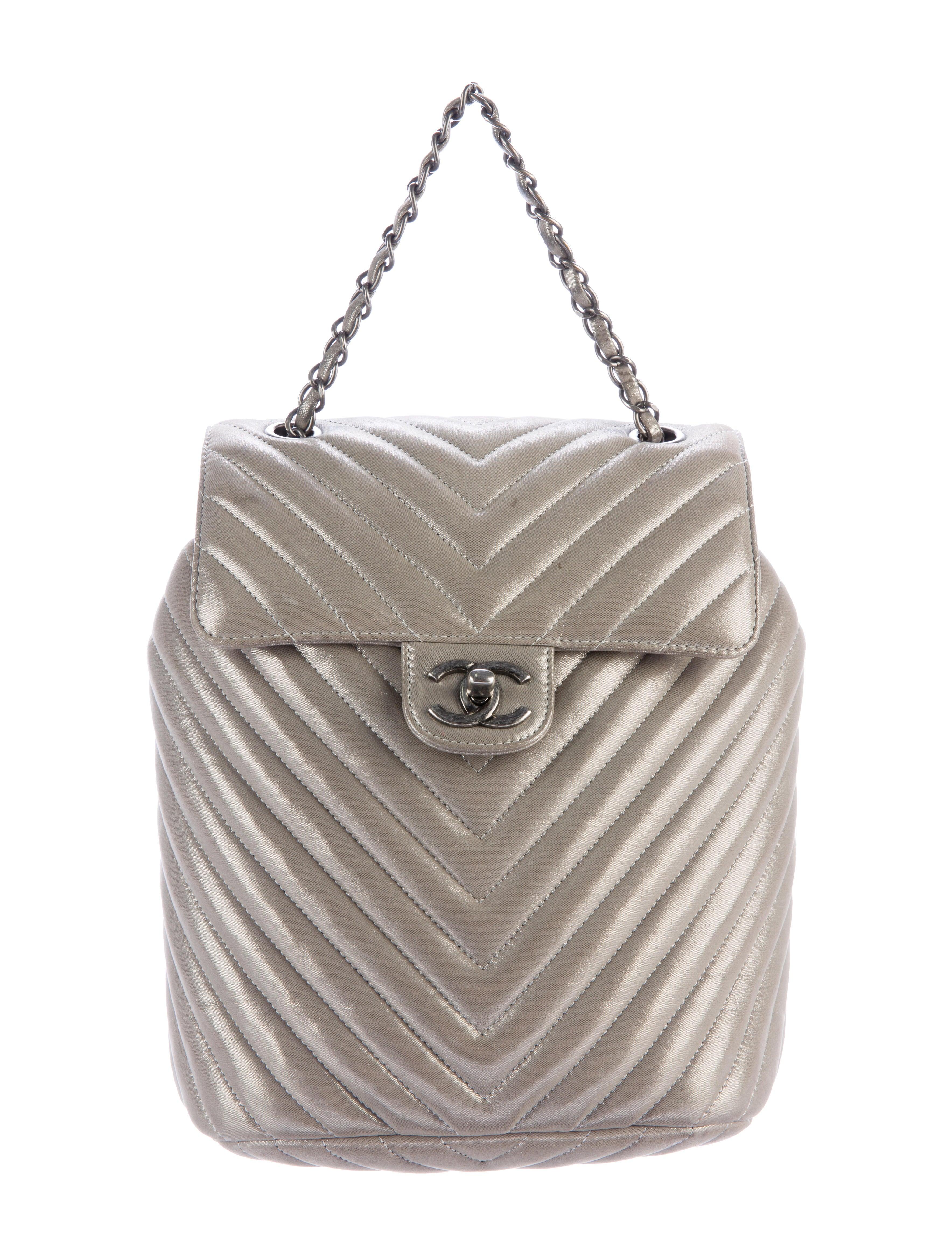 Chanel 2016 Chevron Urban Spirit Backpack - Handbags - CHA173211 ... 0f912517c3b68