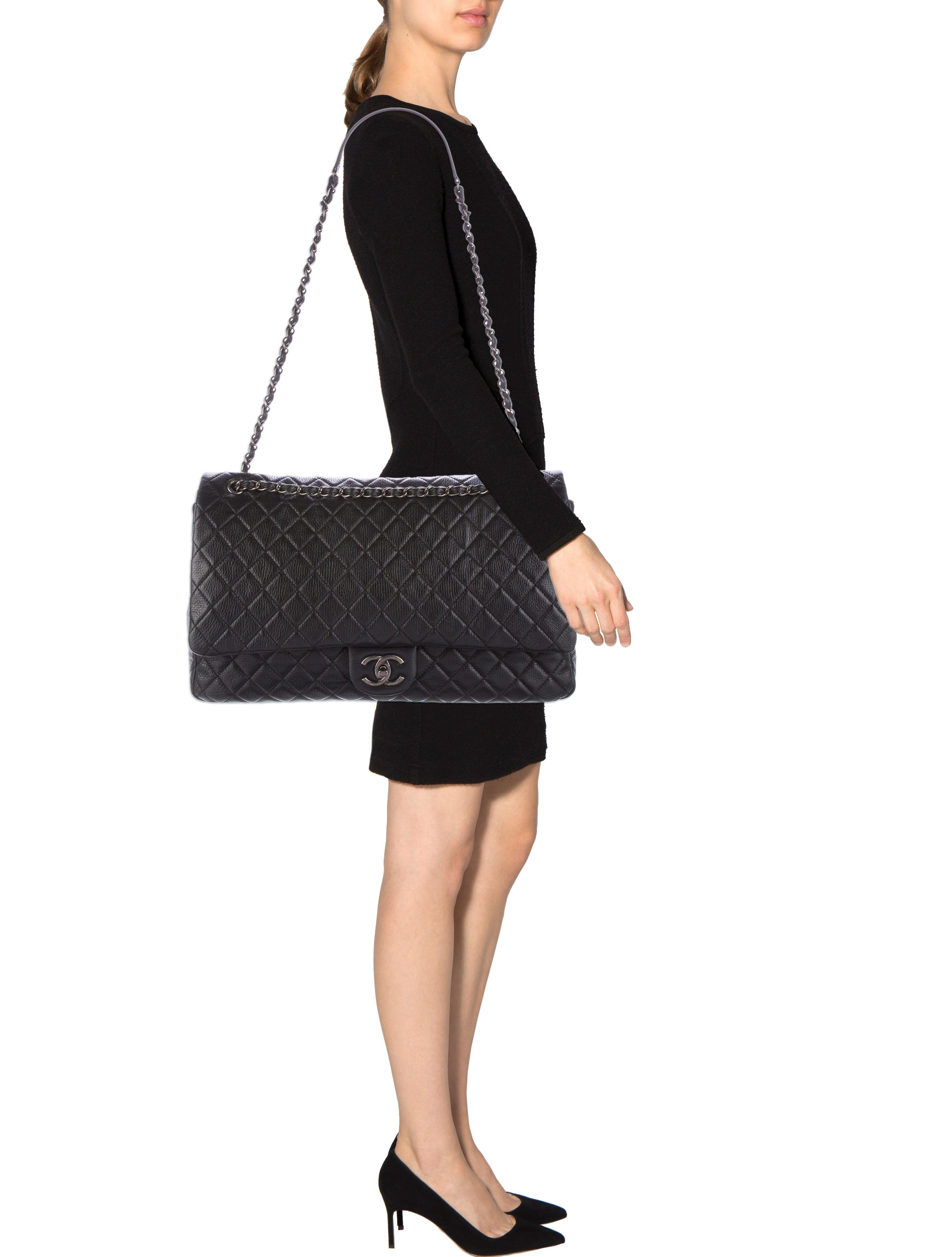 Chanel 2016 Xxl Airline Classic Flap Bag Handbags Cha173452 The Realreal