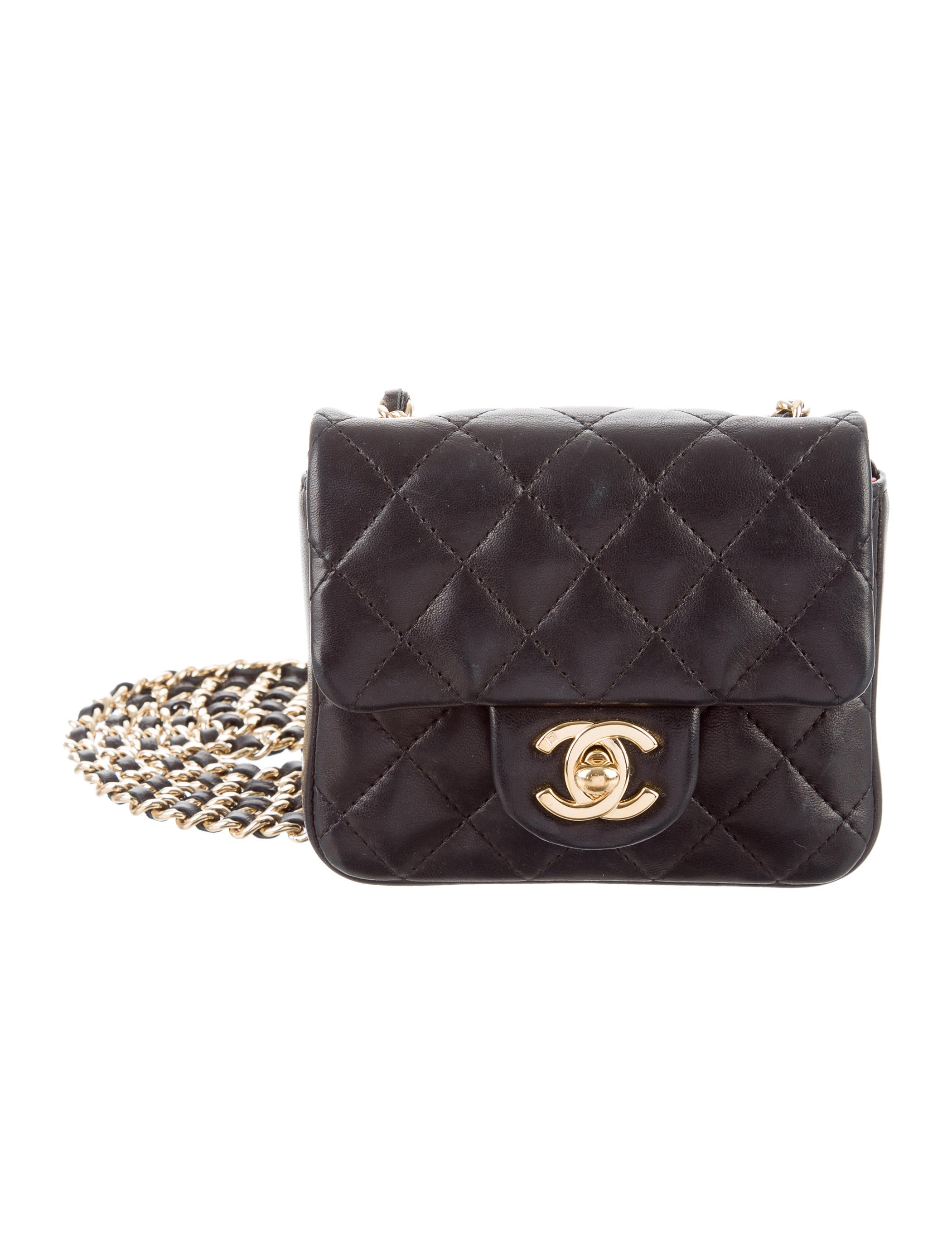 e74a7c30d7e40f Chanel Micro Quilted Flap Bag - Handbags - CHA173707 | The RealReal