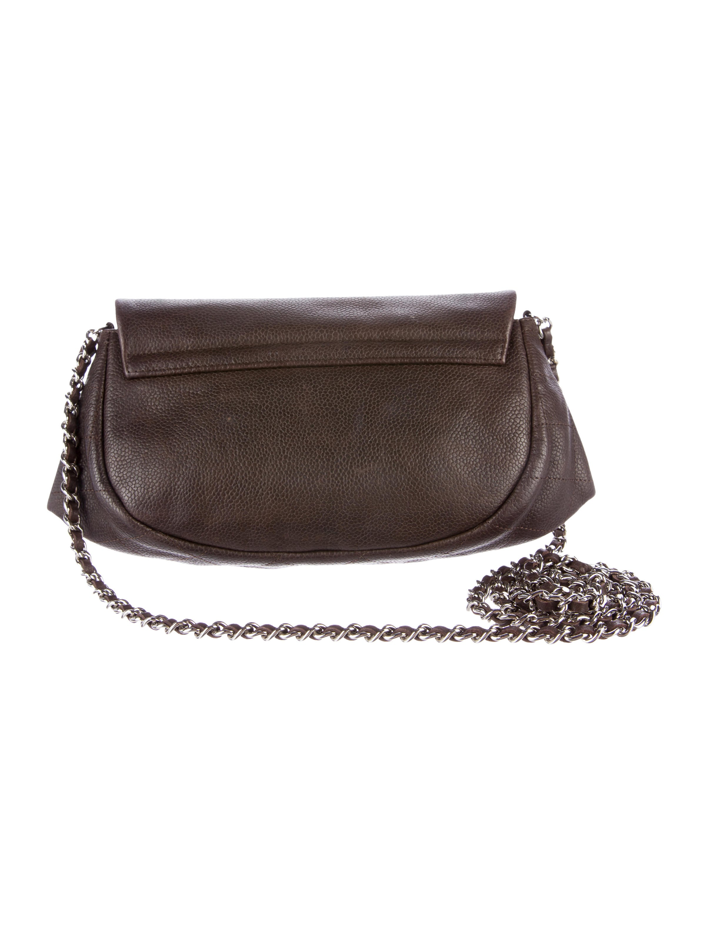 Chanel Half Moon Wallet On Chain - Accessories - CHA174649 ...