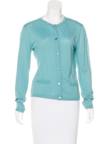 Chanel Cashmere Knit Cardigan None