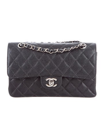 ff707927d19b Chanel Small Classic Flap Bag Caviar | Stanford Center for ...
