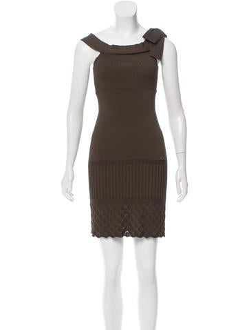 Chanel Bodycon Mini Dress None