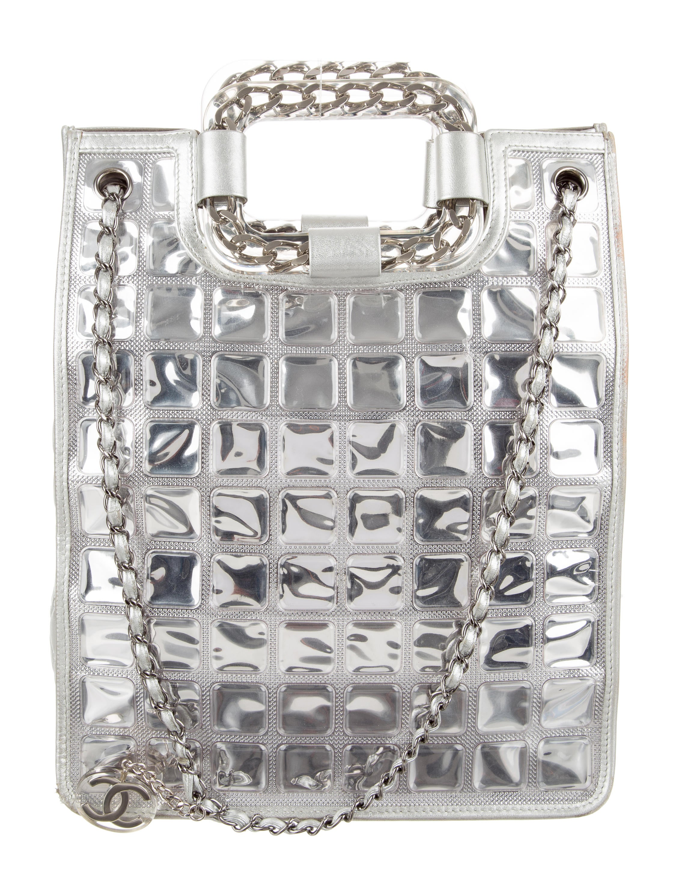 ed72c8670737 Chanel Ice Cube Shopper Tote - Handbags - CHA176907 | The RealReal