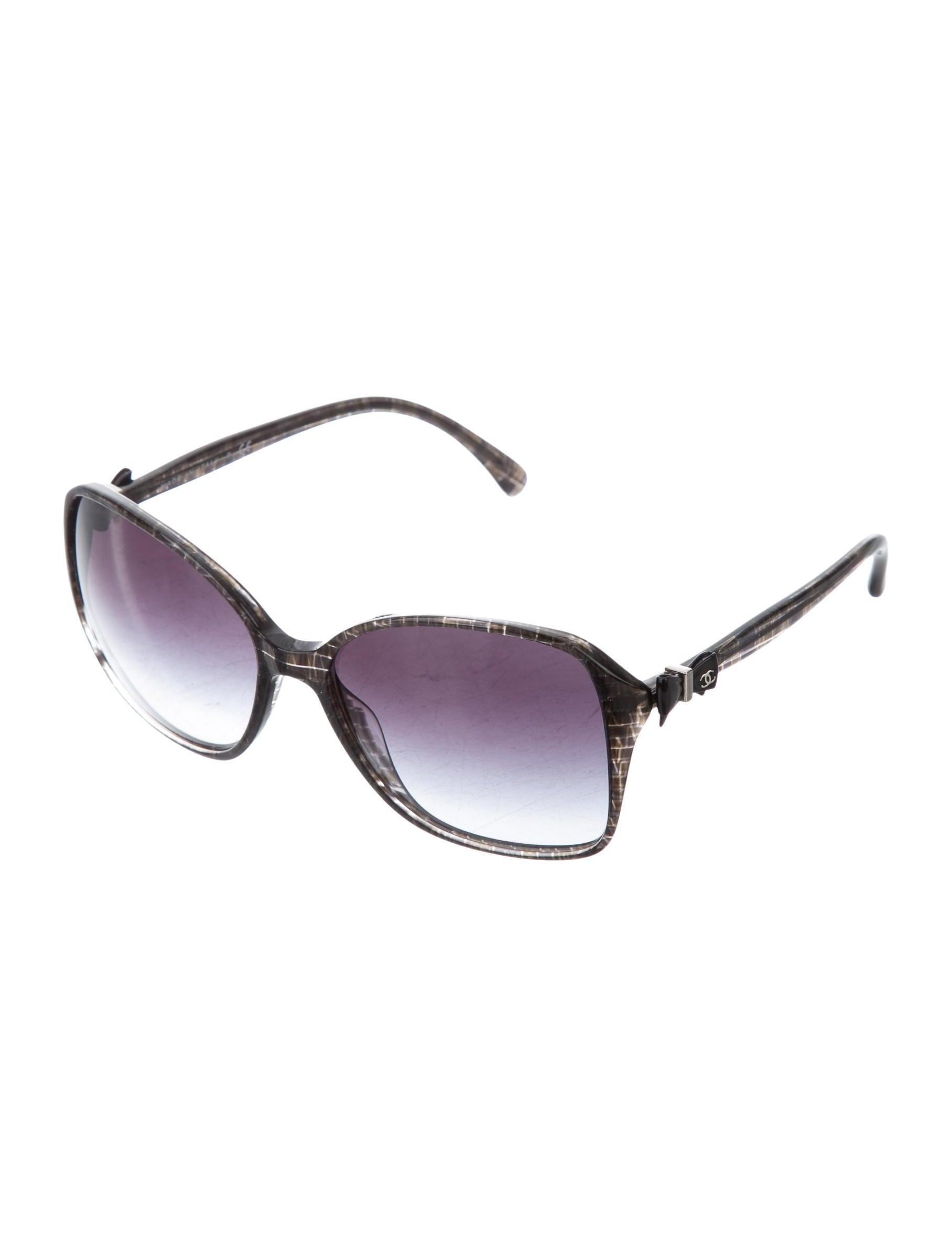 7438f2038638 Chanel Bow Sunglasses Replica