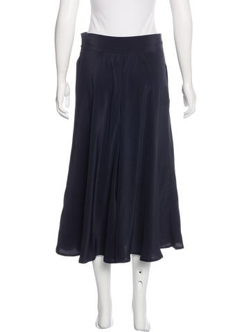chanel vintage a line skirt clothing cha178554 the