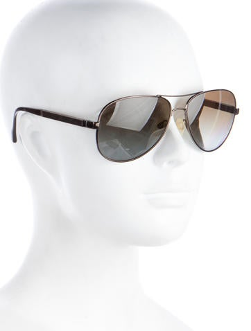 Chanel miroir aviator sunglasses accessories cha179381 for Chanel collection miroir 4179