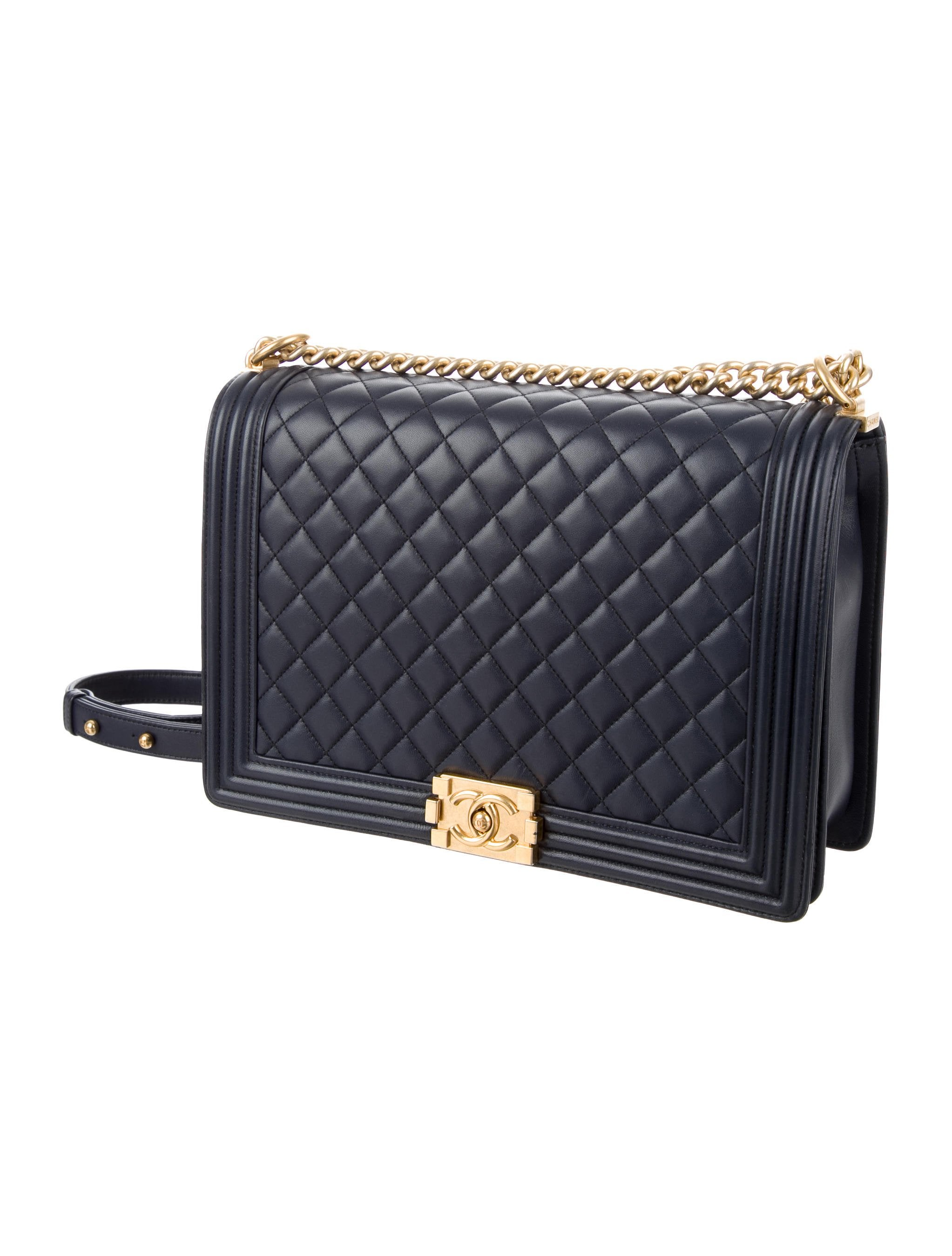 fccb0c3d25cc Chanel 2015 Large Quilted Boy Bag - Handbags - CHA179485 | The RealReal