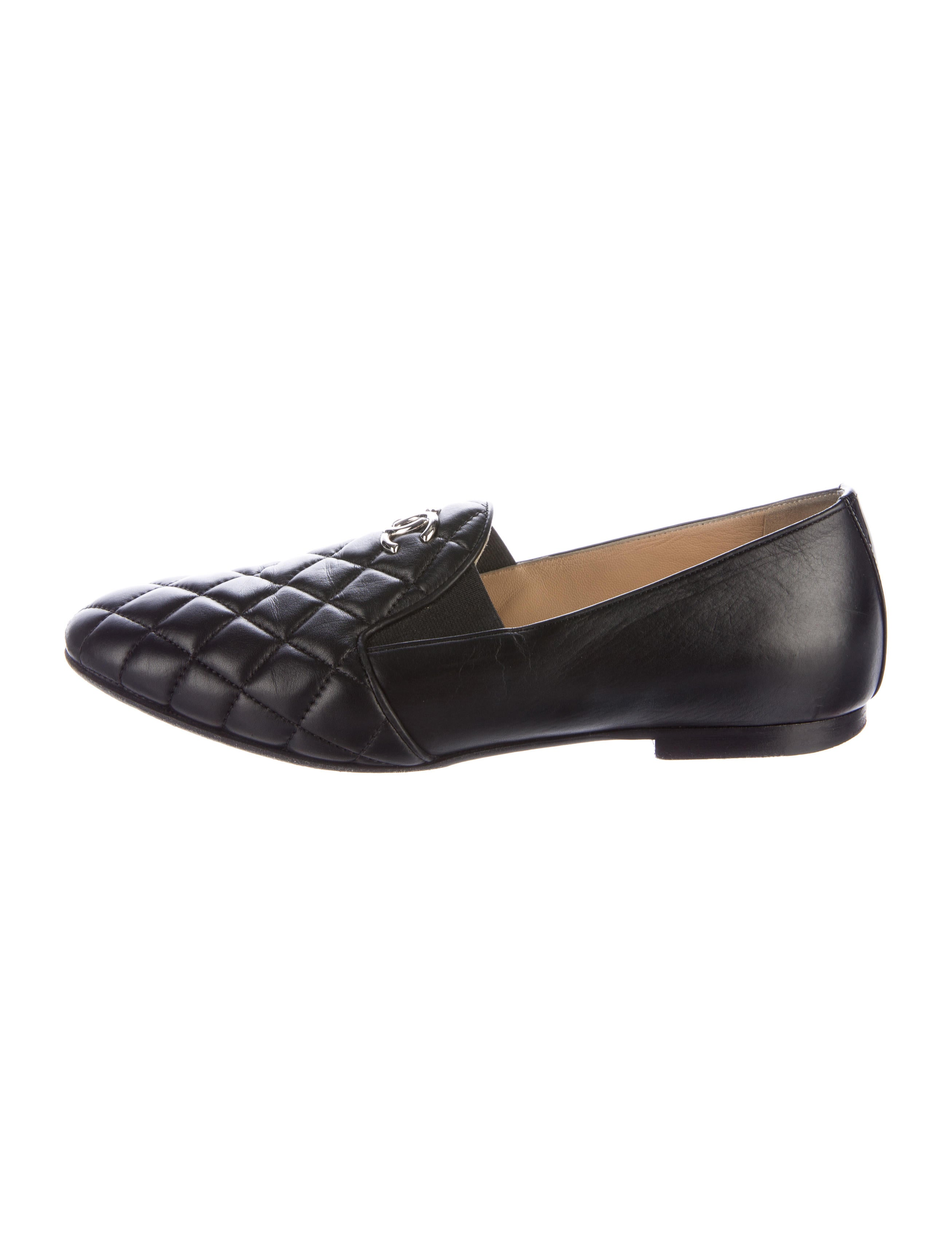 Chanel Quilted CC Loafers - Shoes - CHA179873 | The RealReal