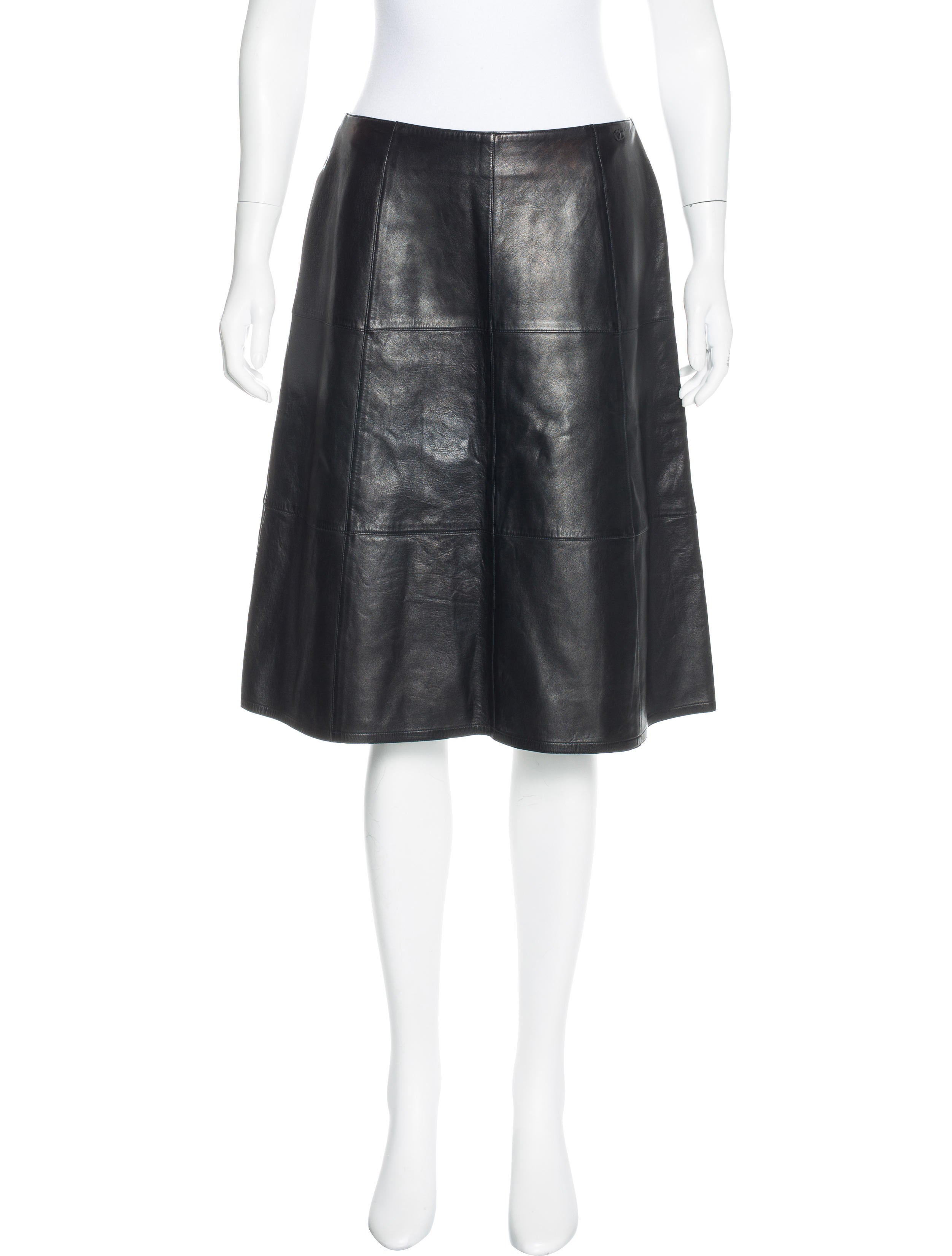 Chanel Quilted Leather Skirt - Clothing - CHA180421 | The RealReal : quilted leather skirt - Adamdwight.com