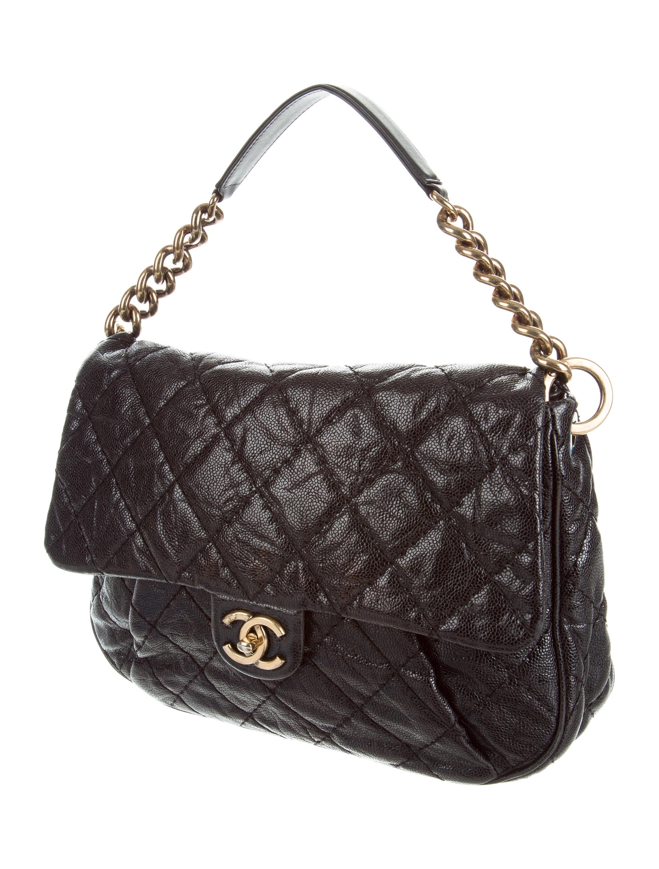 Chanel Coco Pleats Messenger Bag - Handbags - CHA180877 ...