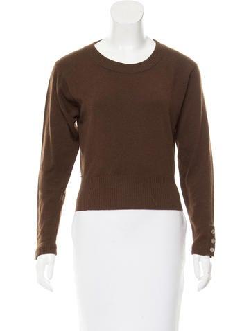 Chanel Cashmere Lightweight Sweater None