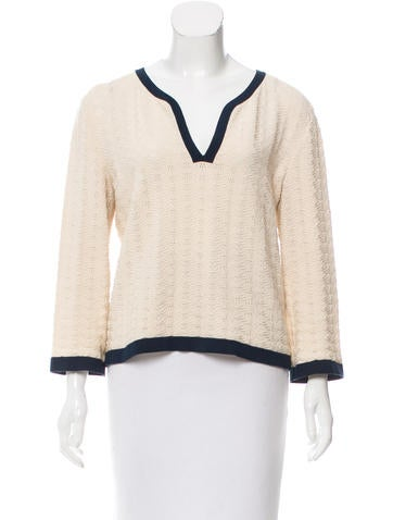 Chanel Knit Jacquard Sweater None