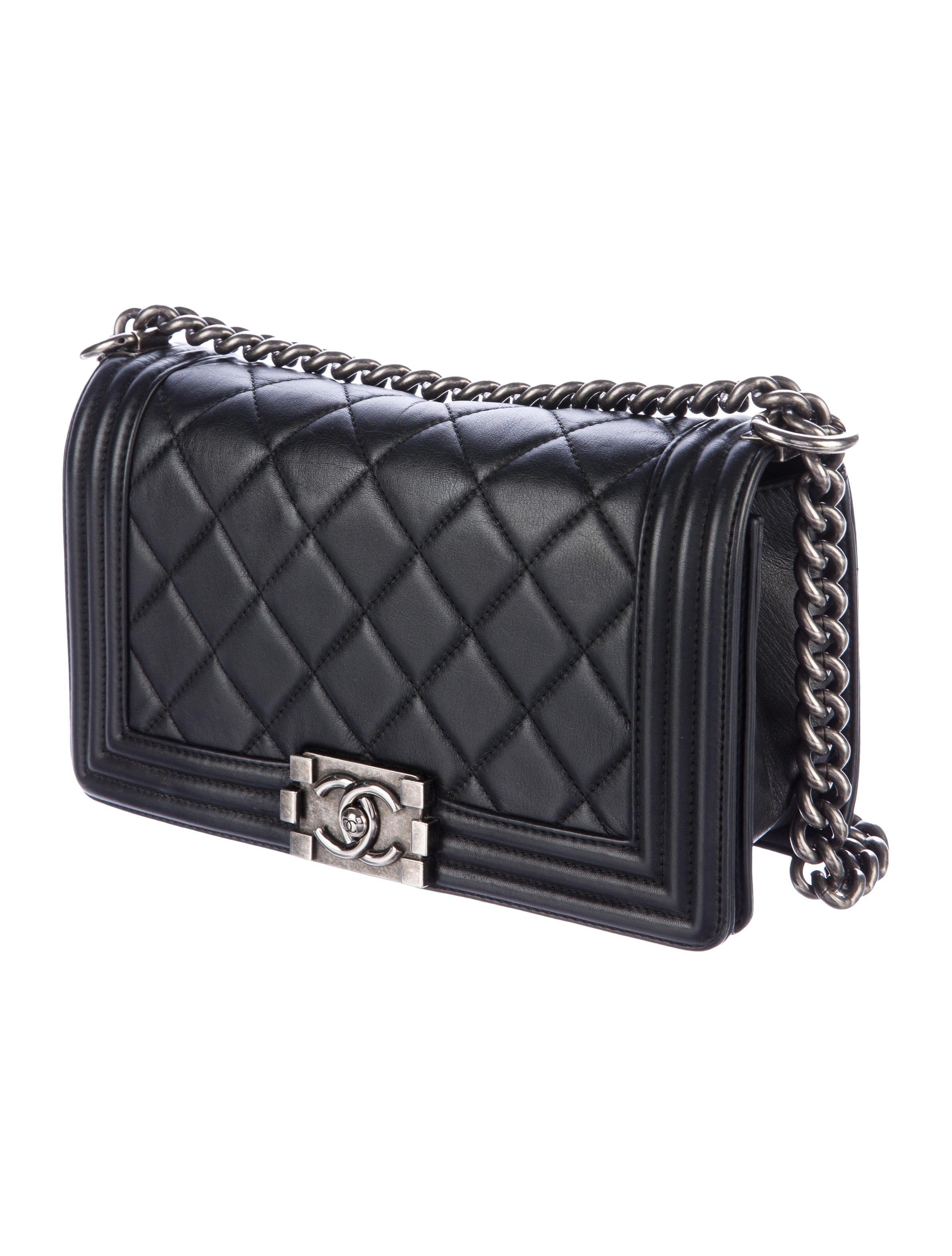 Chanel Quilted Medium Boy Flap Bag